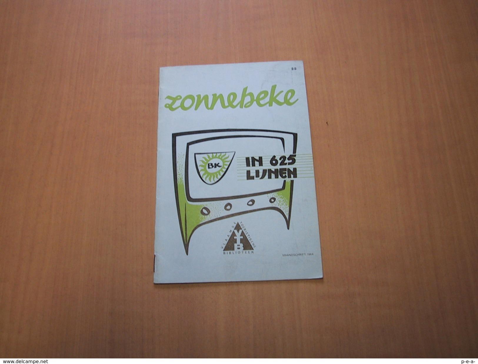 Zonnebeke In 625 Lijnen - Libros, Revistas, Cómics