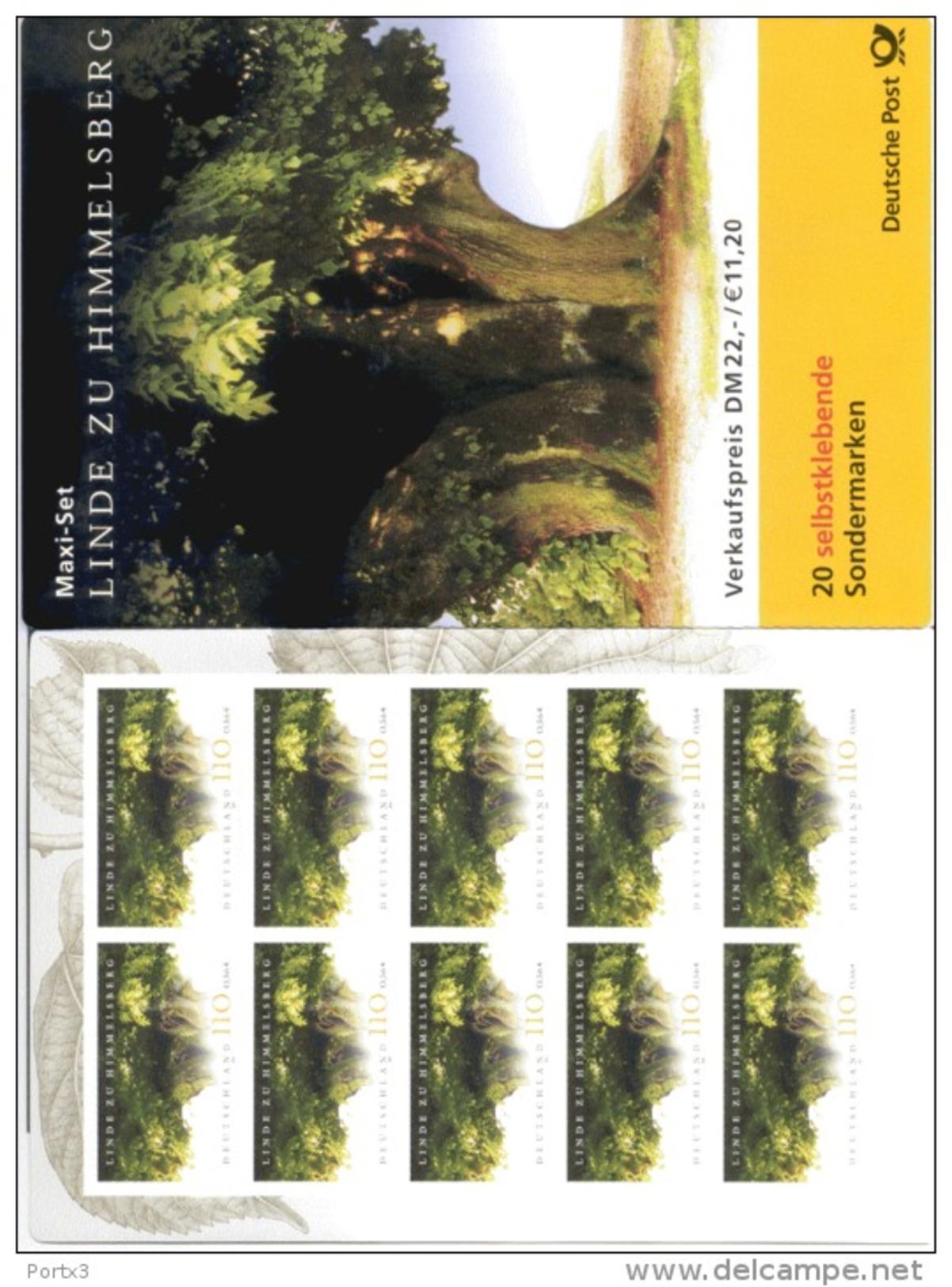 Markenheftchen Bund Postfr. MH 45 Naturdenkmal Linde Zu Himmelsberg  MNH ** - [7] West-Duitsland