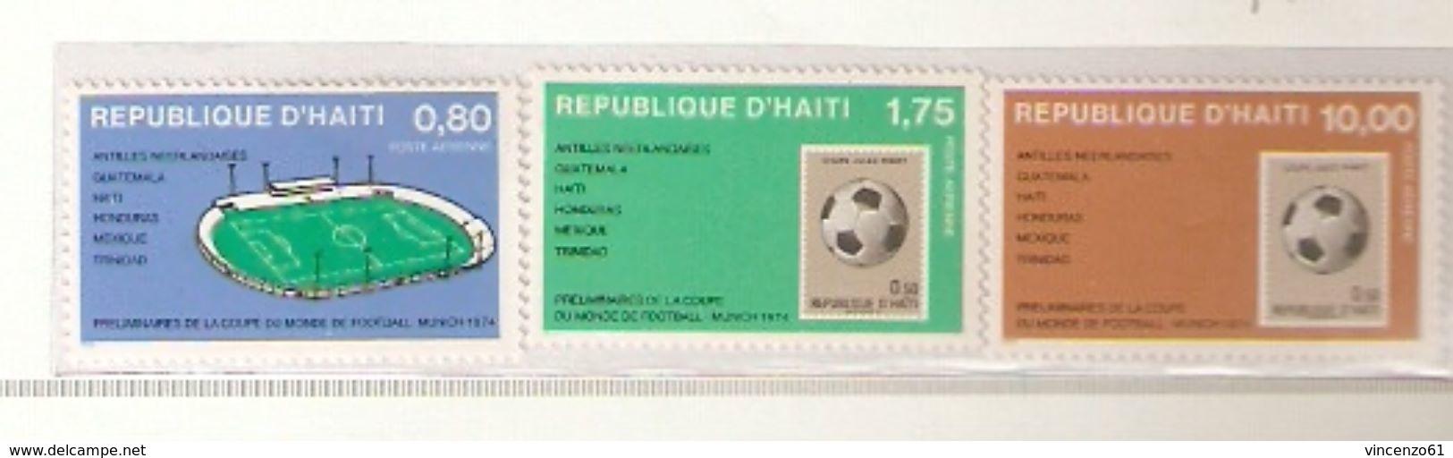 REPUBLIQUE D´HAITI AEREO FIFA WORLD CUP 1974 GERMANY 1974 - Coppa Del Mondo