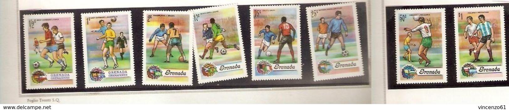 BERMUDA FIFA WORLD CUP 1974 GERMANY 1974 - Coppa Del Mondo