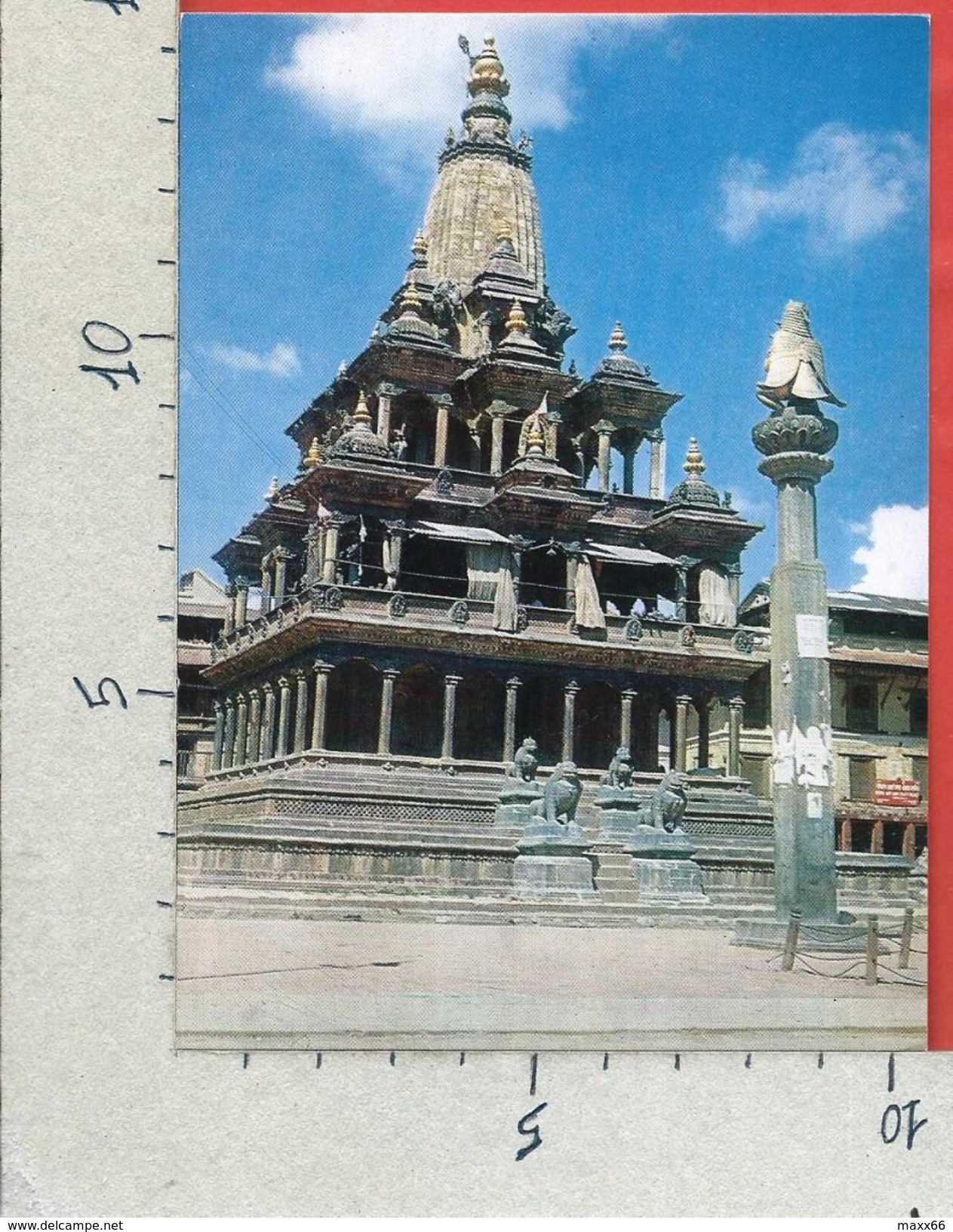 CARTOLINA NV NEPAL - Krishna Mandir - Patan - 10 X 15 - Nepal