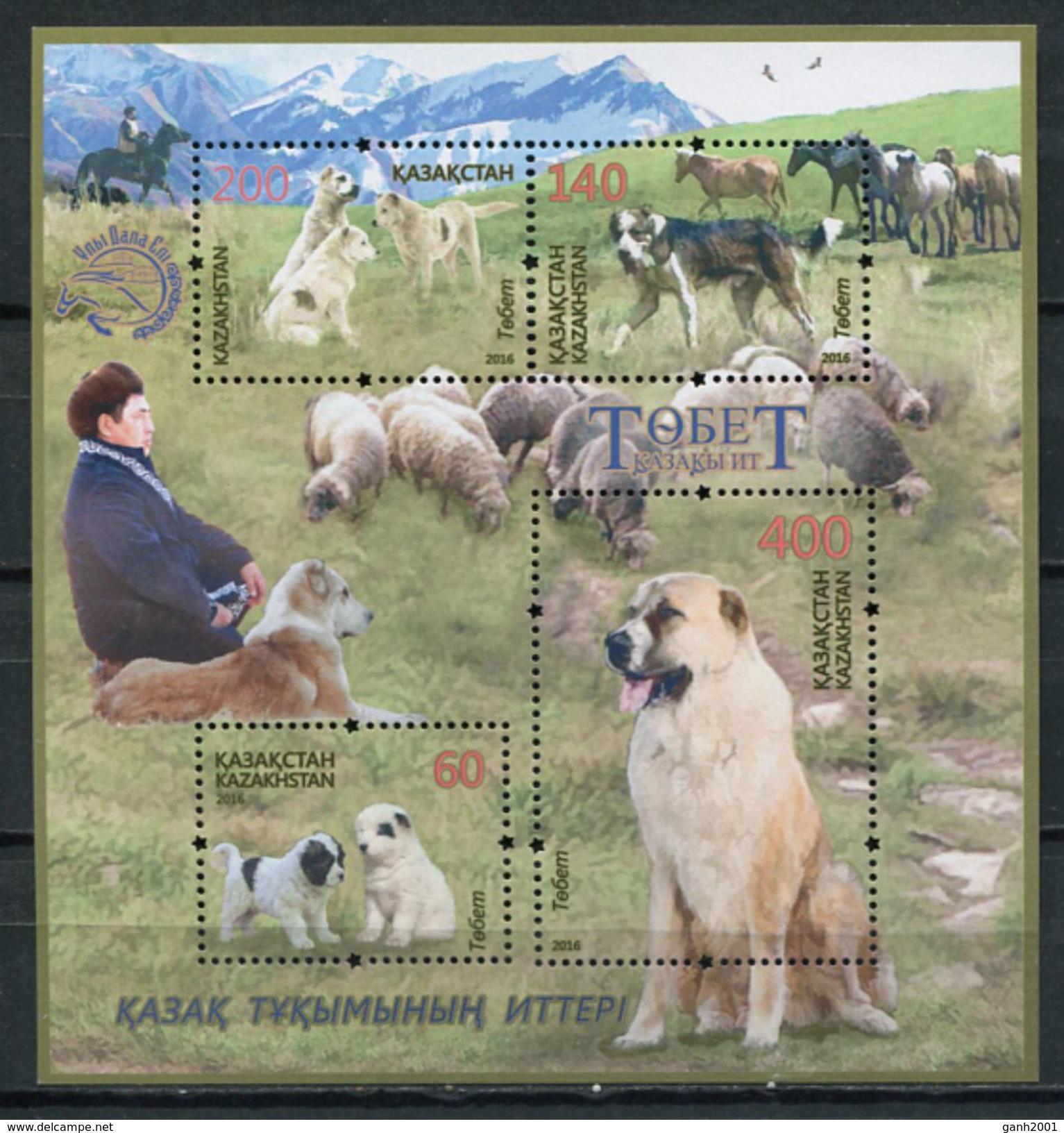 Kazakhstan 2016 / Dogs MNH Chiens Hunde Perros / Cu4921  40-54 - Perros