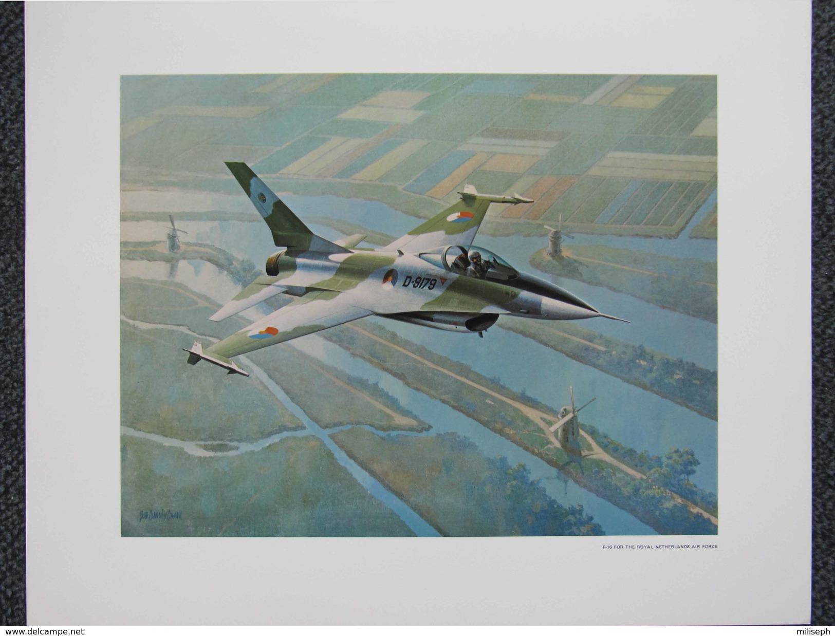 Photo AVION  F-16 FOR THE ROYAL NETHERLANDS AIR FORCE - Par Bob CUNNINGHAM         (4393) - Aviation