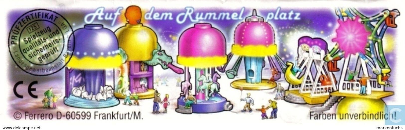 Auf Dem Rummelplatz / Kinderkarusell + BPZ - Ü-Ei