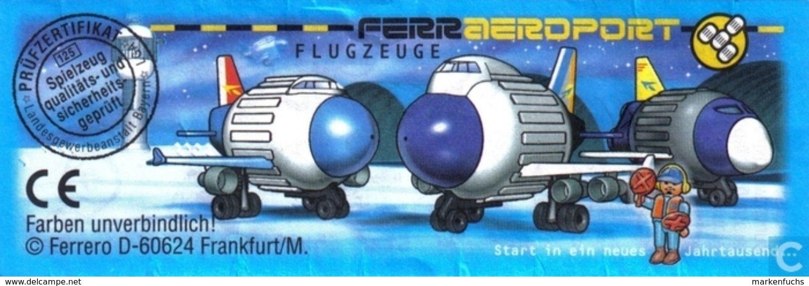 Ferraeroport Flugzeuge / Star Shuttle + BPZ - Ü-Ei
