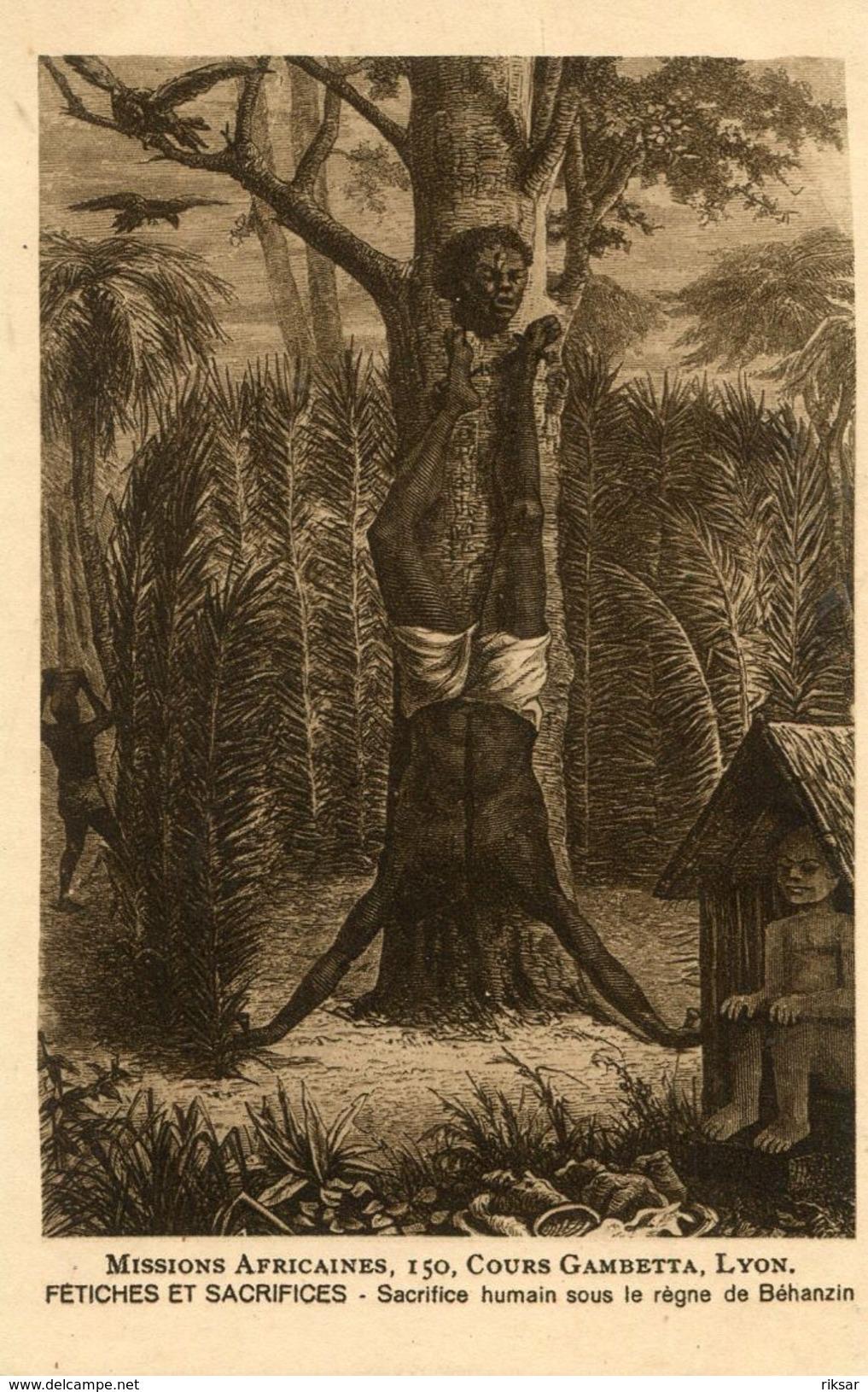 DAHOMEY(TYPE) FETICHEUSE - Dahomey