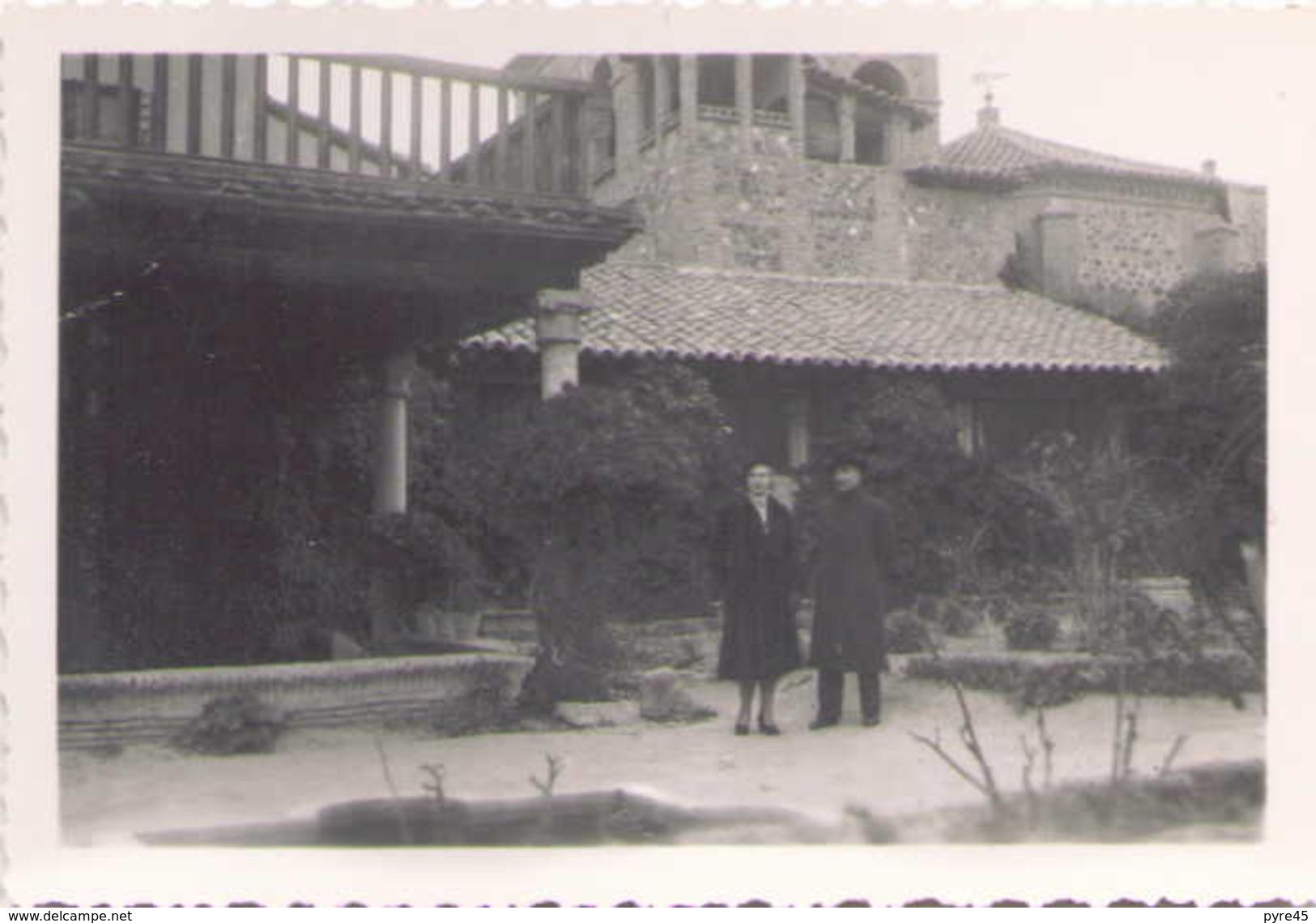 PHOTO ESPAGNE TOLEDE LA CASA EL GRECO FEVRIER 1949 9 X 6 CM - Lieux