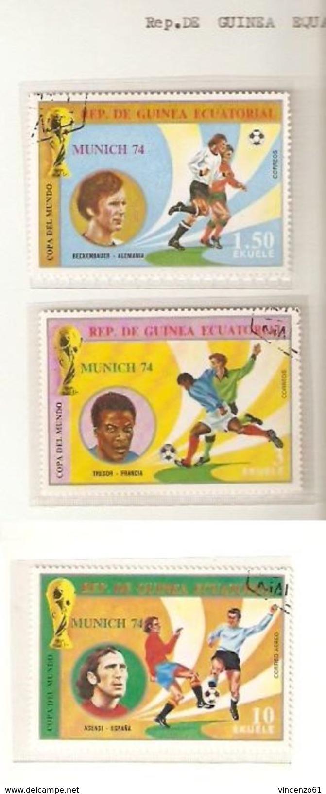 REPUBLIQUE DE GUINNEA ECUATORIAL VOLTA BURKINA FASO   FIFA WORLD CUP 1974 GERMANY 1974 - Coppa Del Mondo