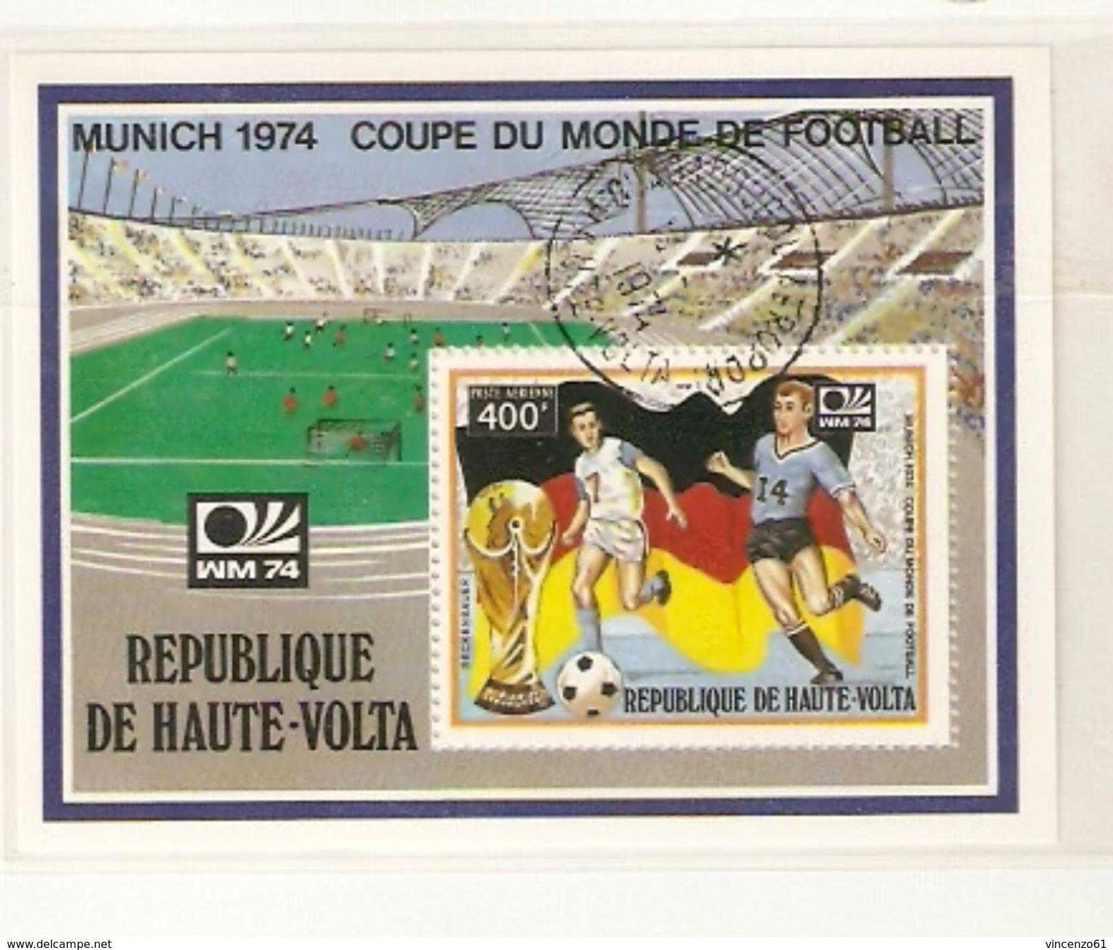 BURKINA FASO REPUBLIQUE D´HAUTE VOLTA FIFA WORLD CUP 1974 GERMANY 1974 - 1974 – Germania Ovest