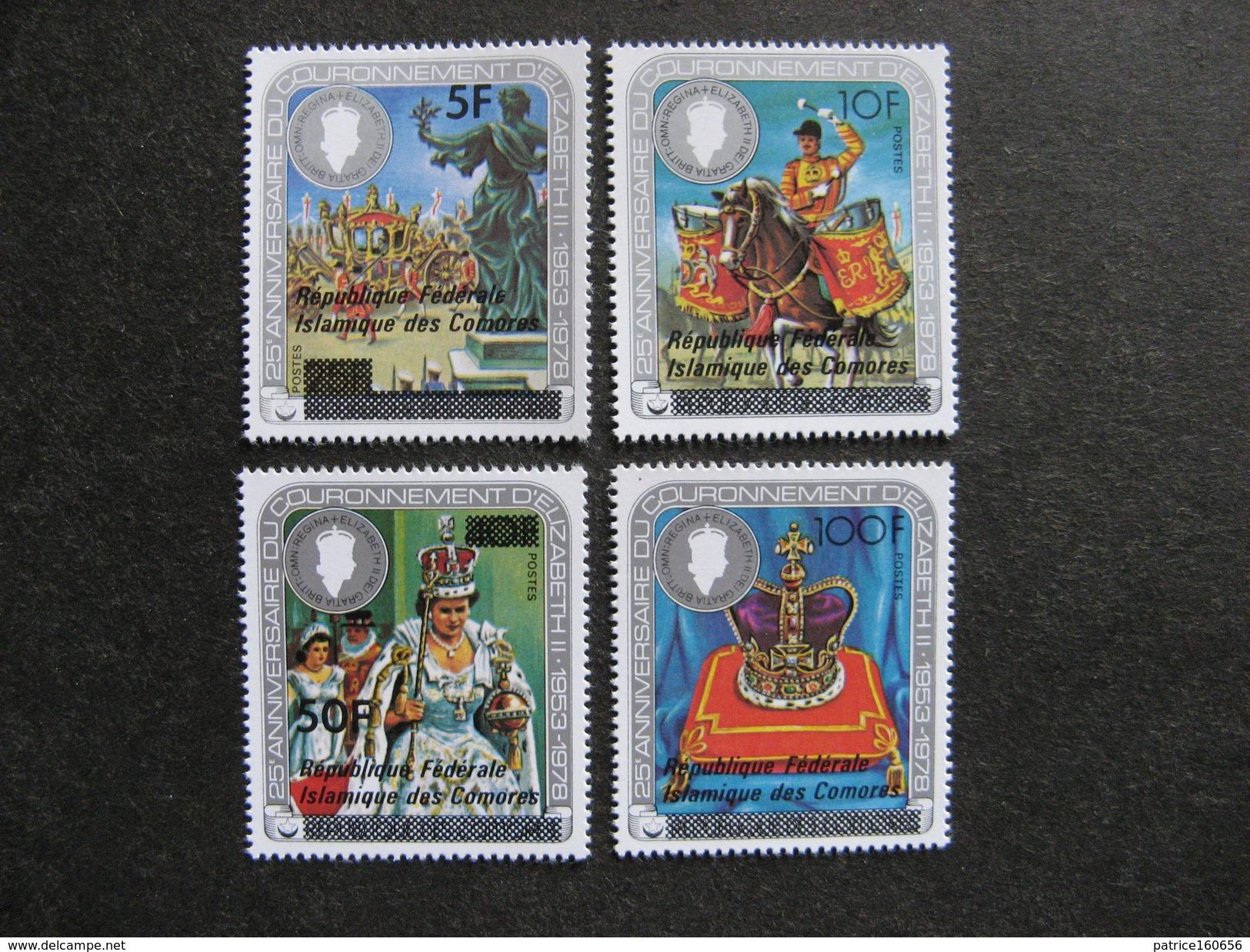 Comores:  TB Série N° 278 Au N°281, Neufs XX. - Comores (1975-...)