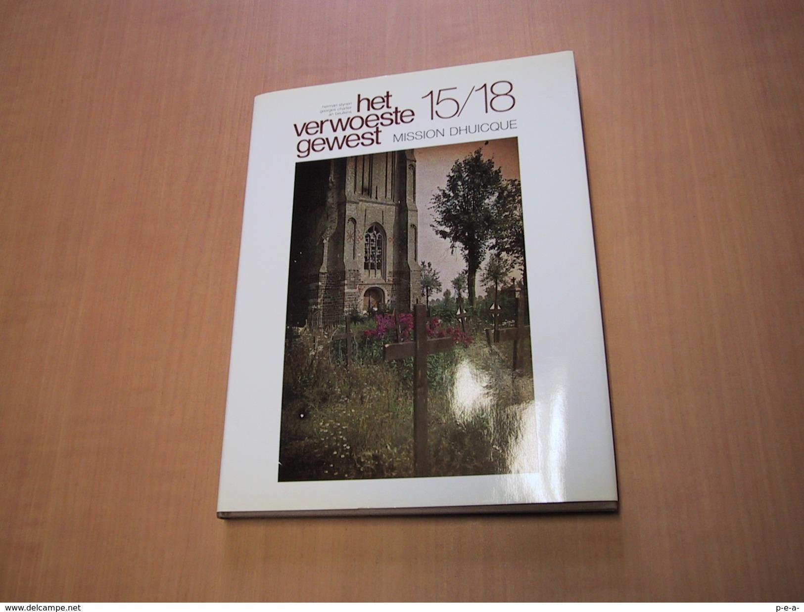 Het Verwoeste Gewest - Mission Dhuicque - Libros, Revistas, Cómics