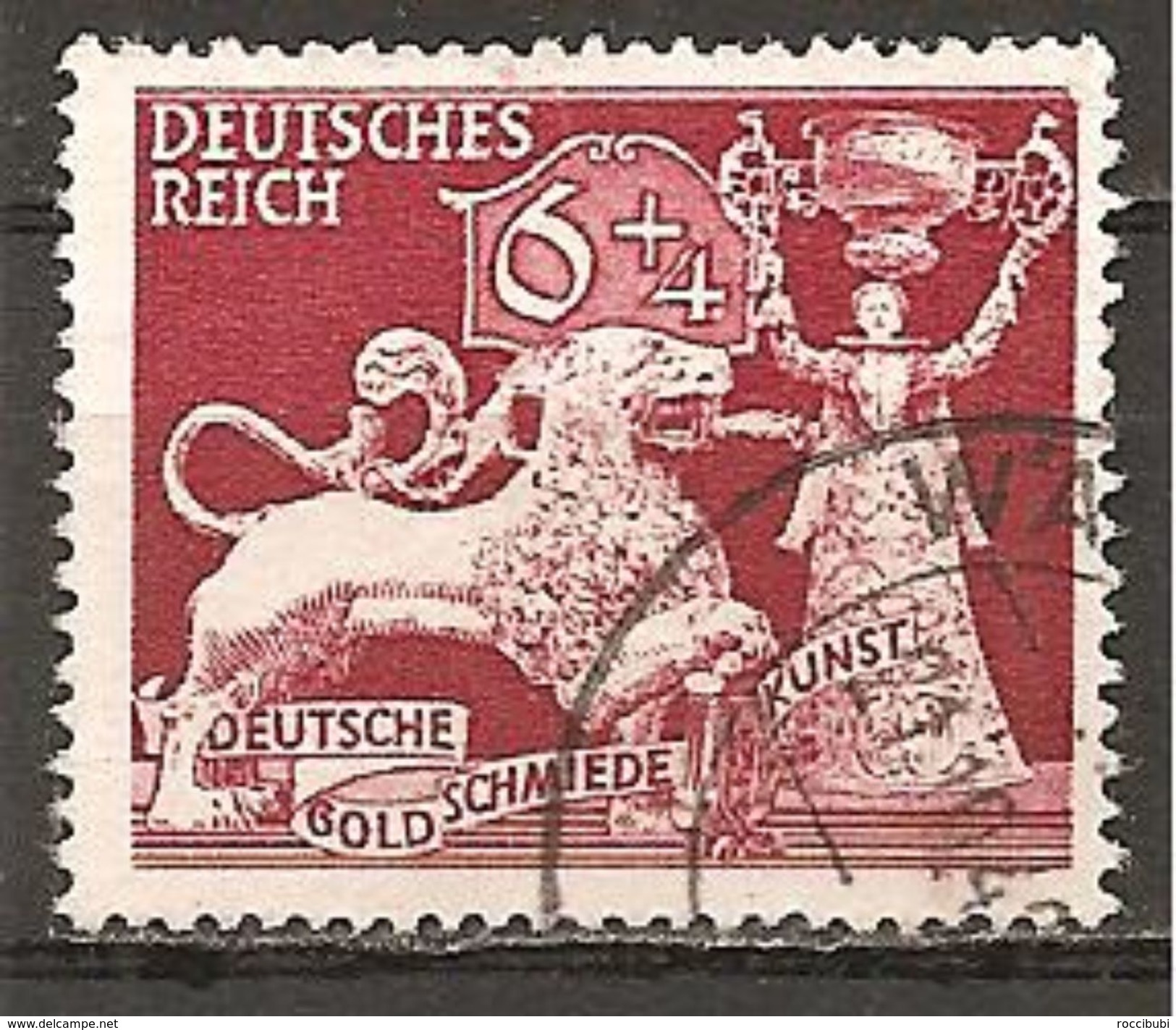 DR 1942 // Mi. 816 O - Gebraucht