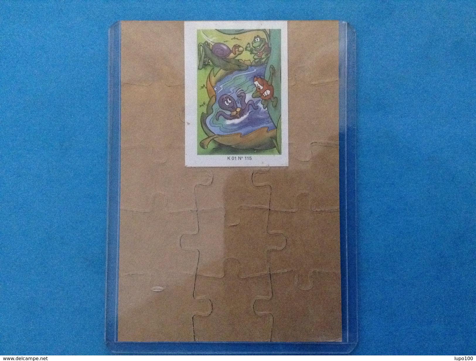 FERRERO PUZZLE K01 N 115 + Cartina - Puzzles