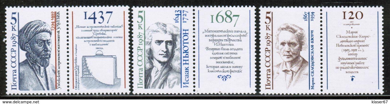 RU 1987 MI 5757-59 Zf - 1923-1991 USSR