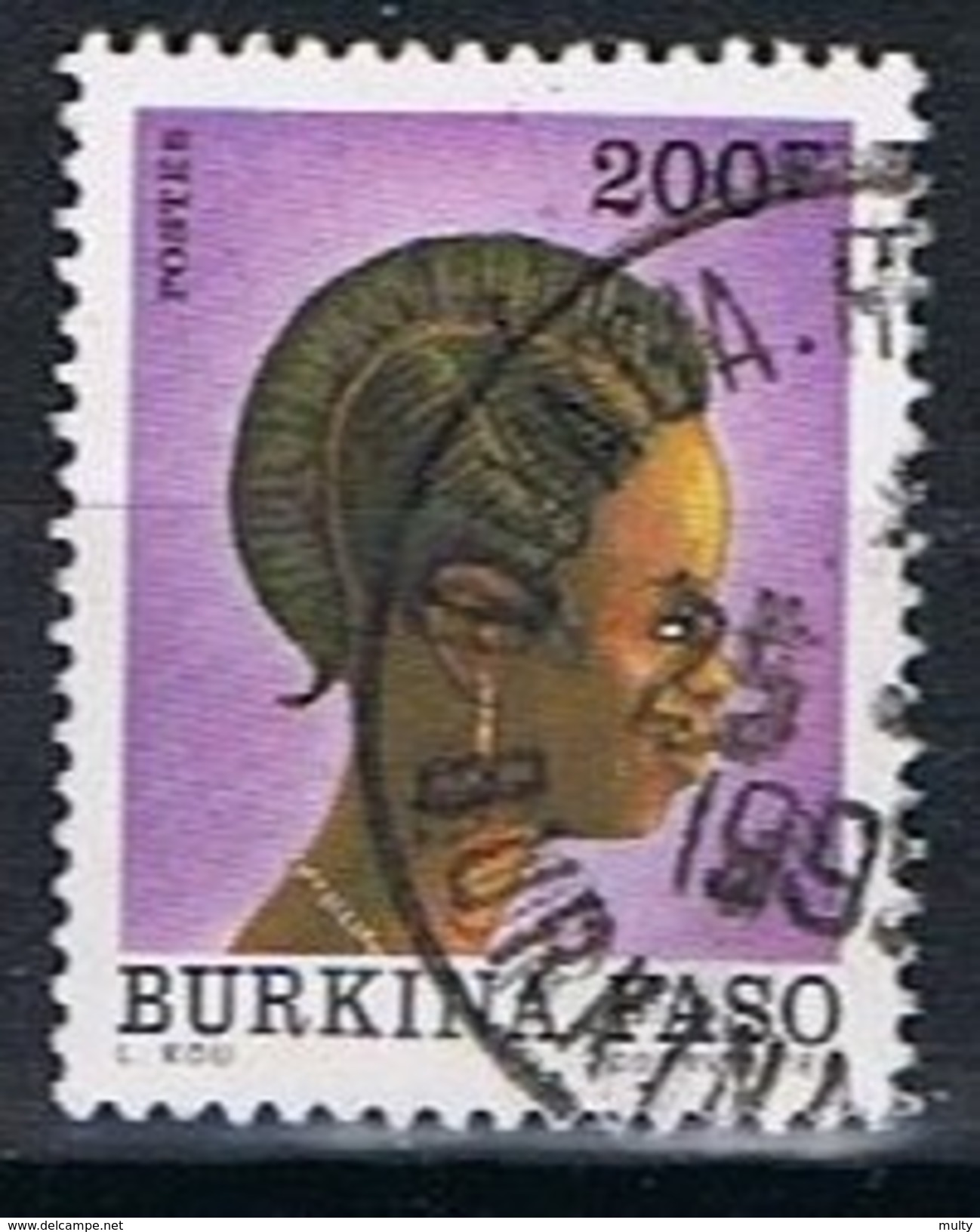 Burkina Faso Y/T 837 (0) - Burkina Faso (1984-...)