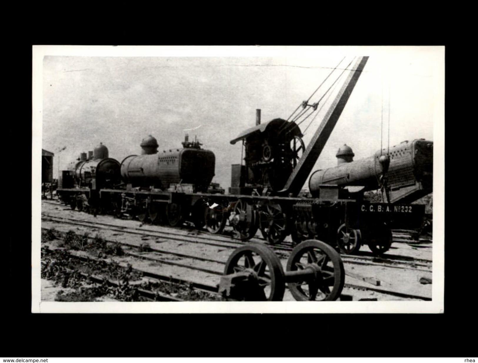 TRAINS - ARGENTINE - BUENOS AIRES - Embarcado Del Riachuelo - - Trains