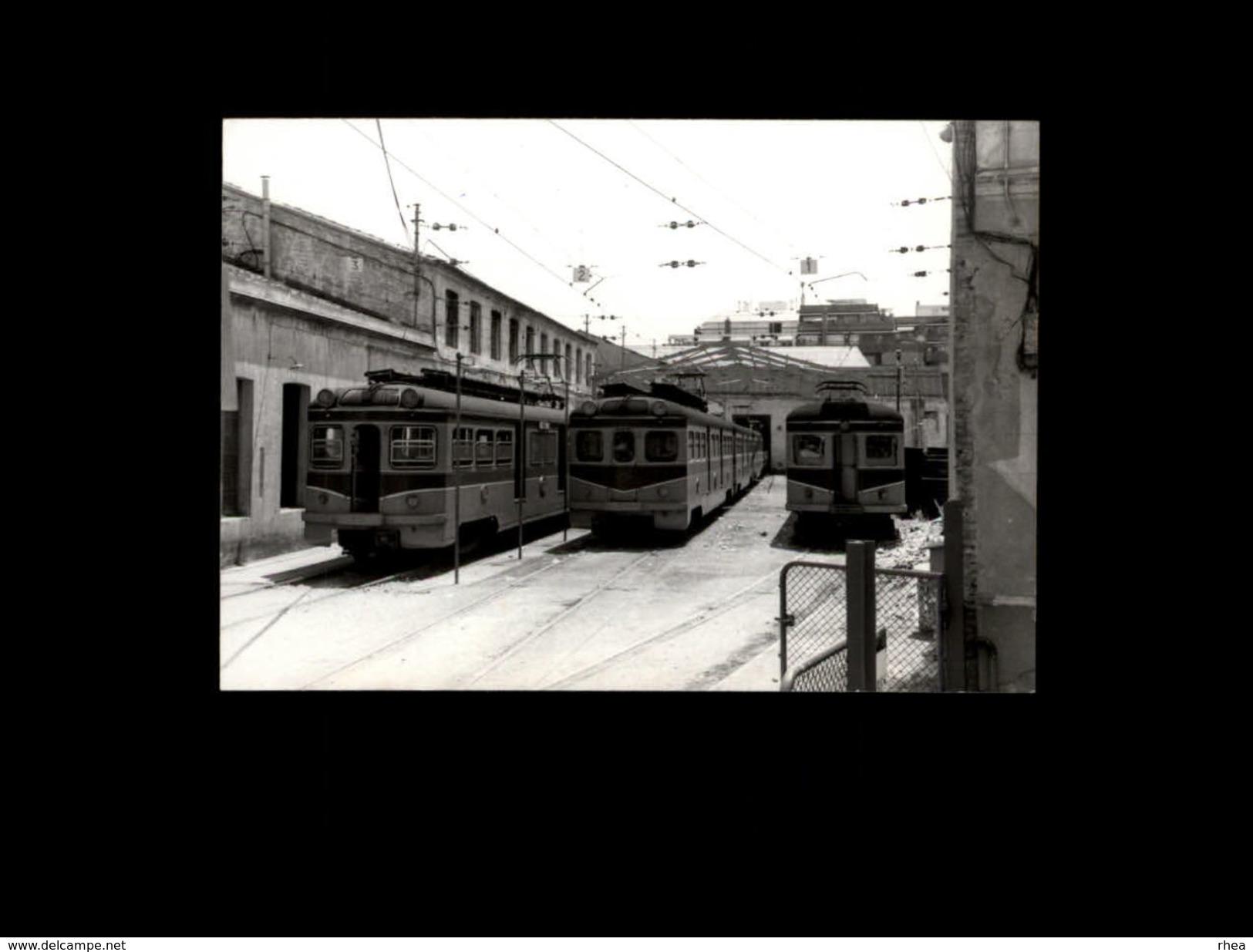 TRAINS - SARRIA - ESPAGNE - 1976 - Locomotive - Trains