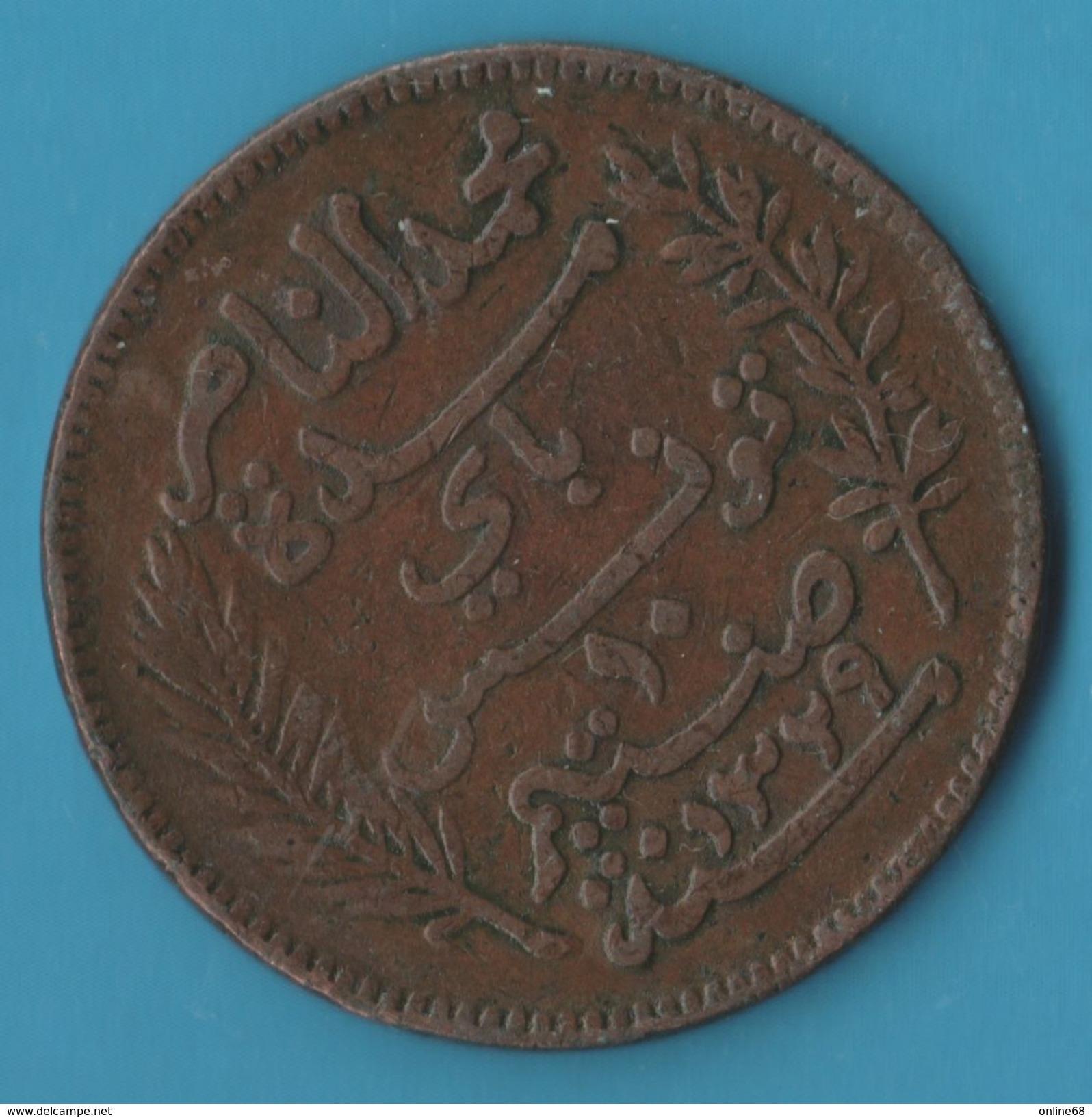 TUNISIE 10 Centimes 1329 (1911) A Muhammad Al-Nasir Protectorat Français - Tunisia