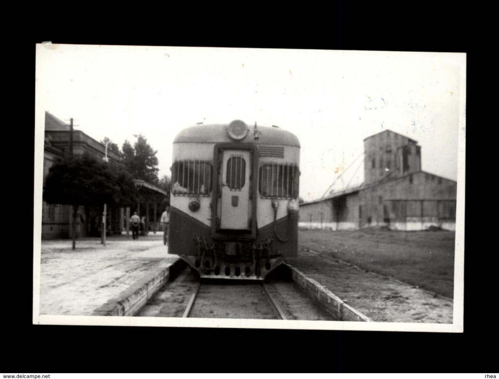 TRAINS - URQUIZA - ARGENTINE - Locomotive FIAT - 1978 - Trains
