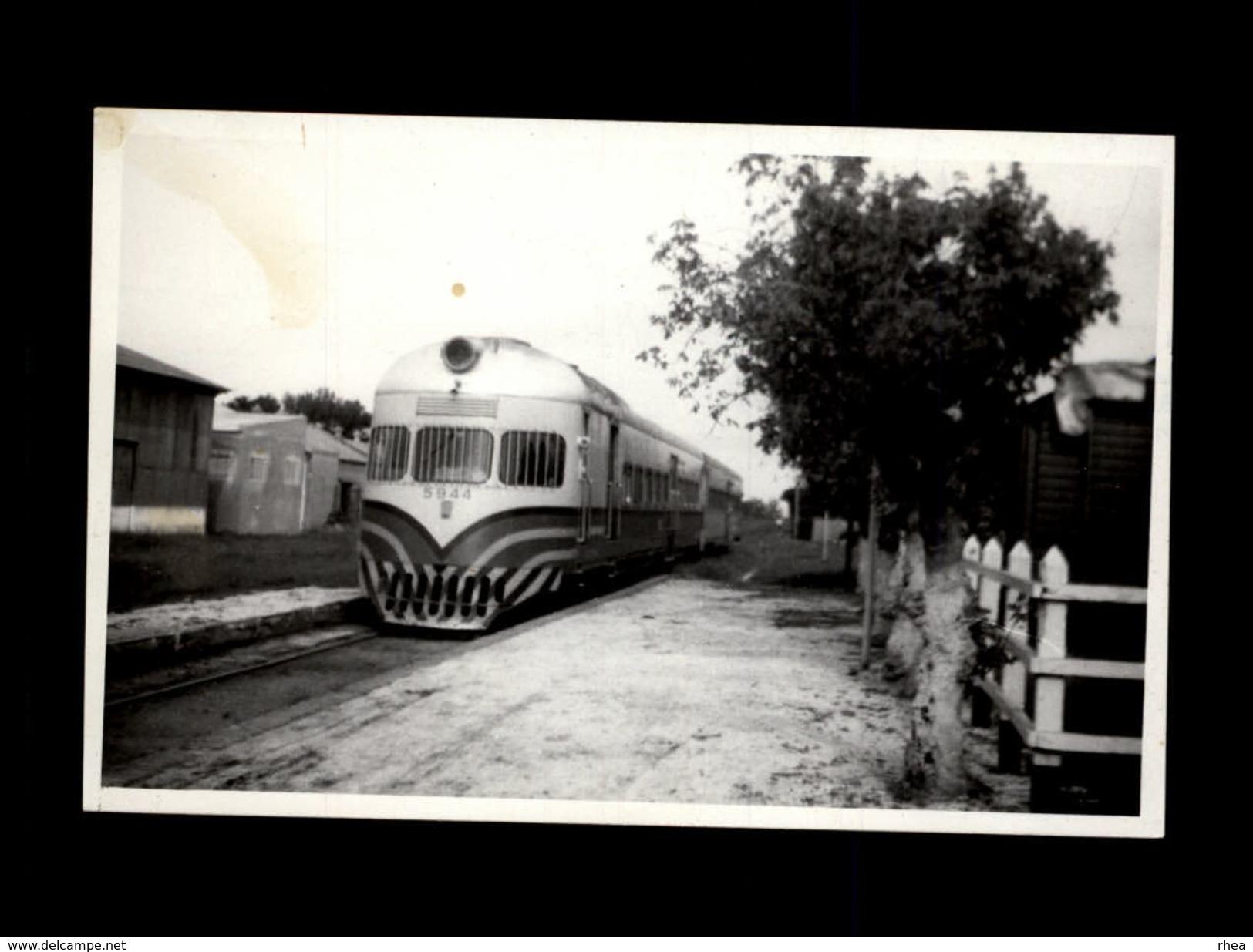 TRAINS - ARGENTINE - Locomotive - Trains