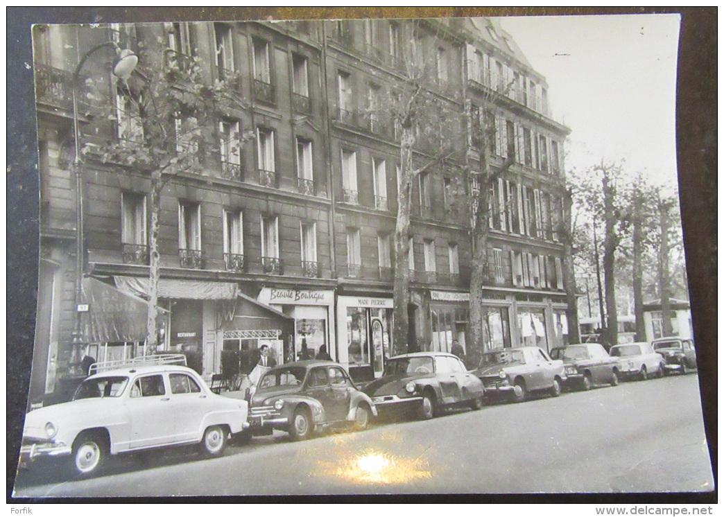 CPSM Paris - Avenue Niel Animée + Timbre YT N°1263 - Cachet 1964 - France