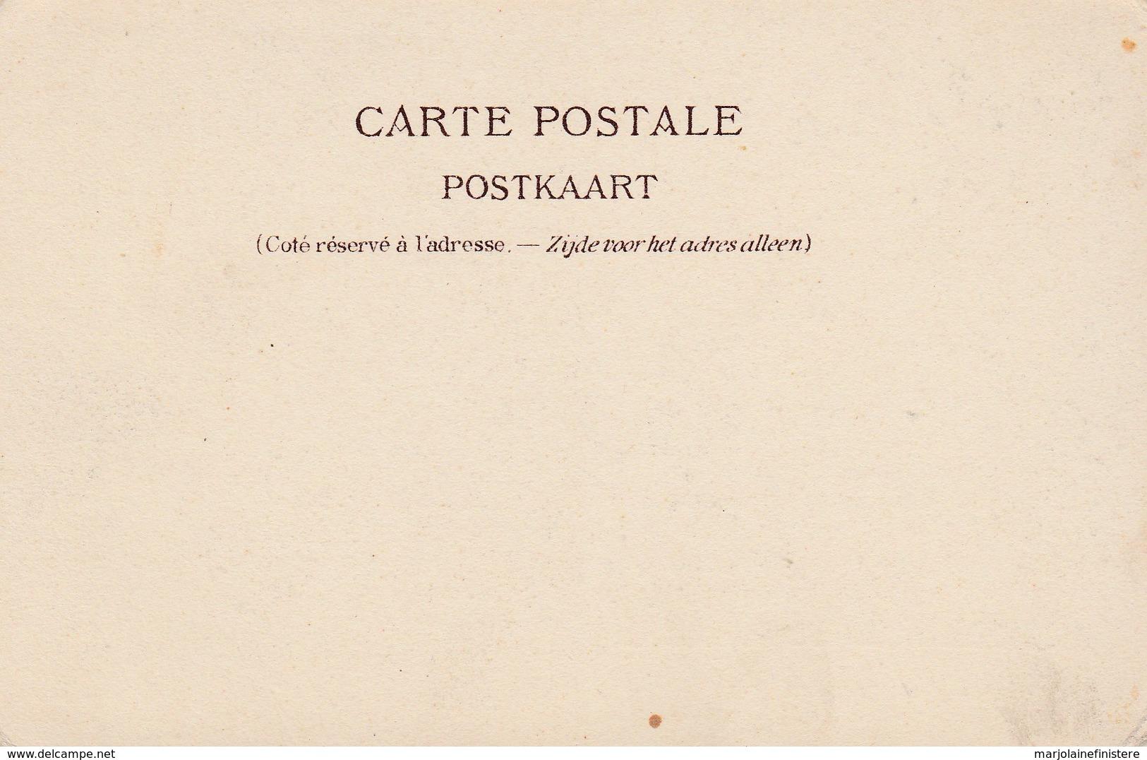 Bruxelles. - Porte De Louvain. Dos Simple. Brasserie St-Michel. Animation. Vers 1900 Ou Avant. - Avenidas, Bulevares
