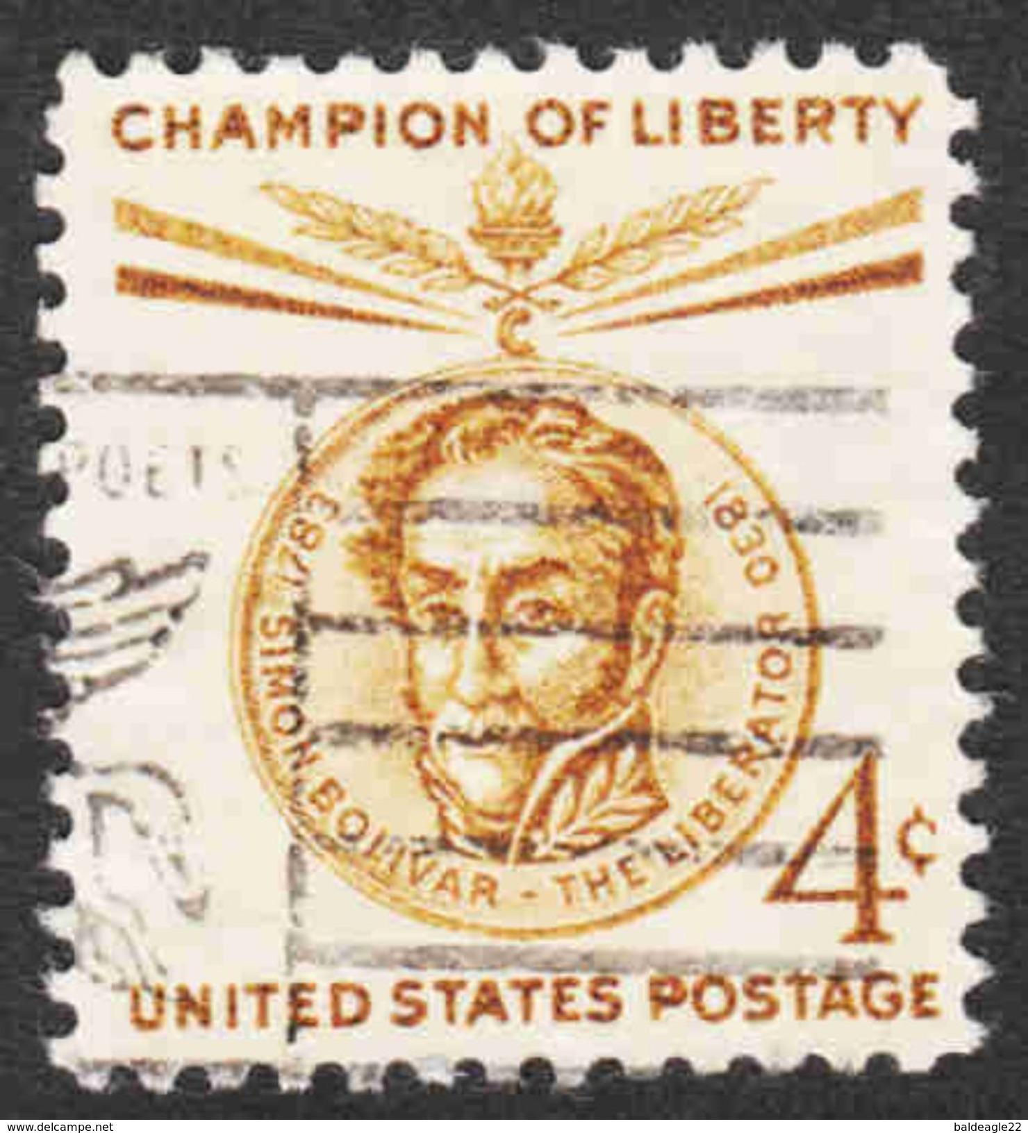 United States - Scott #1110 Used (2) - Verenigde Staten