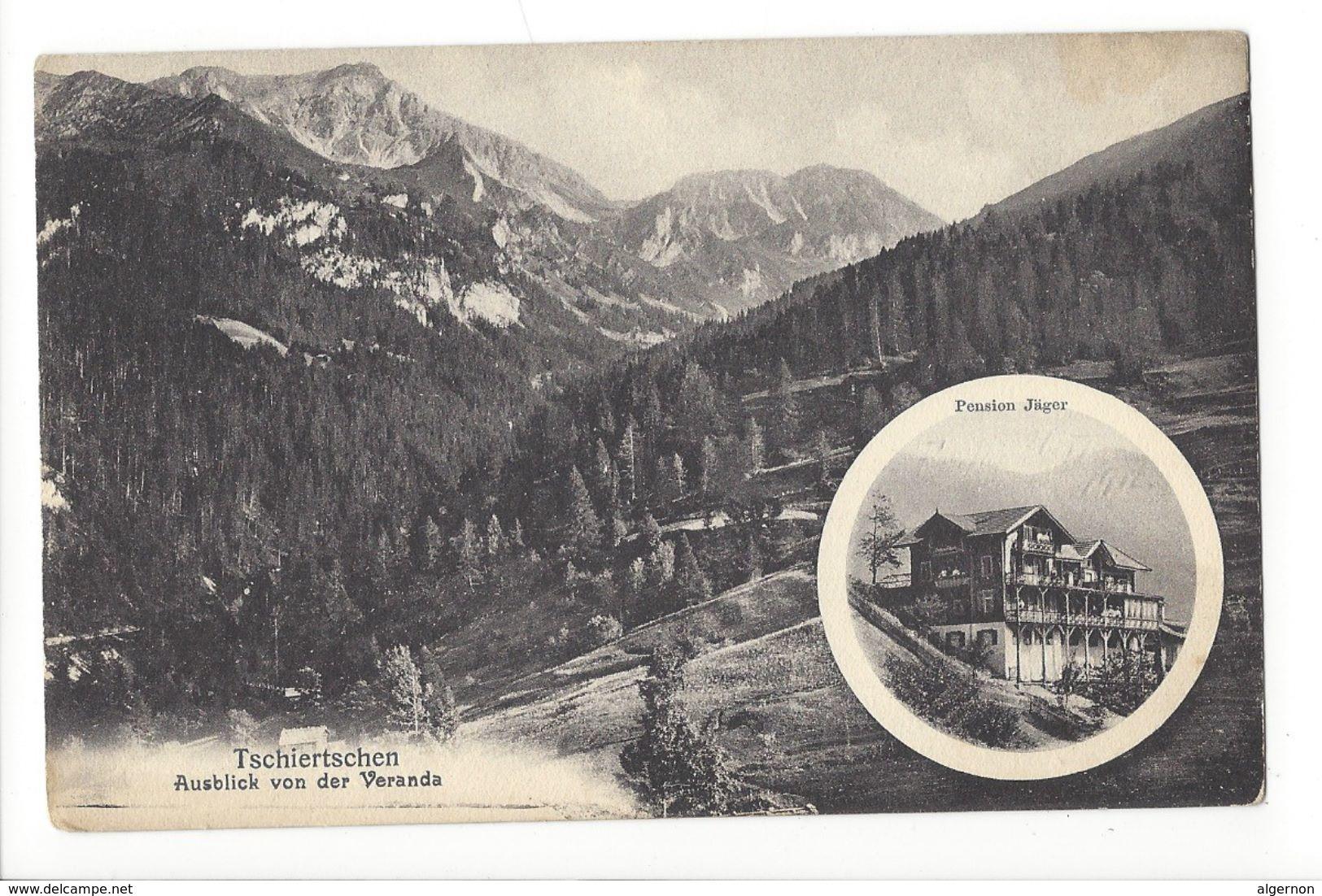 17608 - Tschiertschen Ausblick Von Der Veranda Pension Jäger - GR Grisons