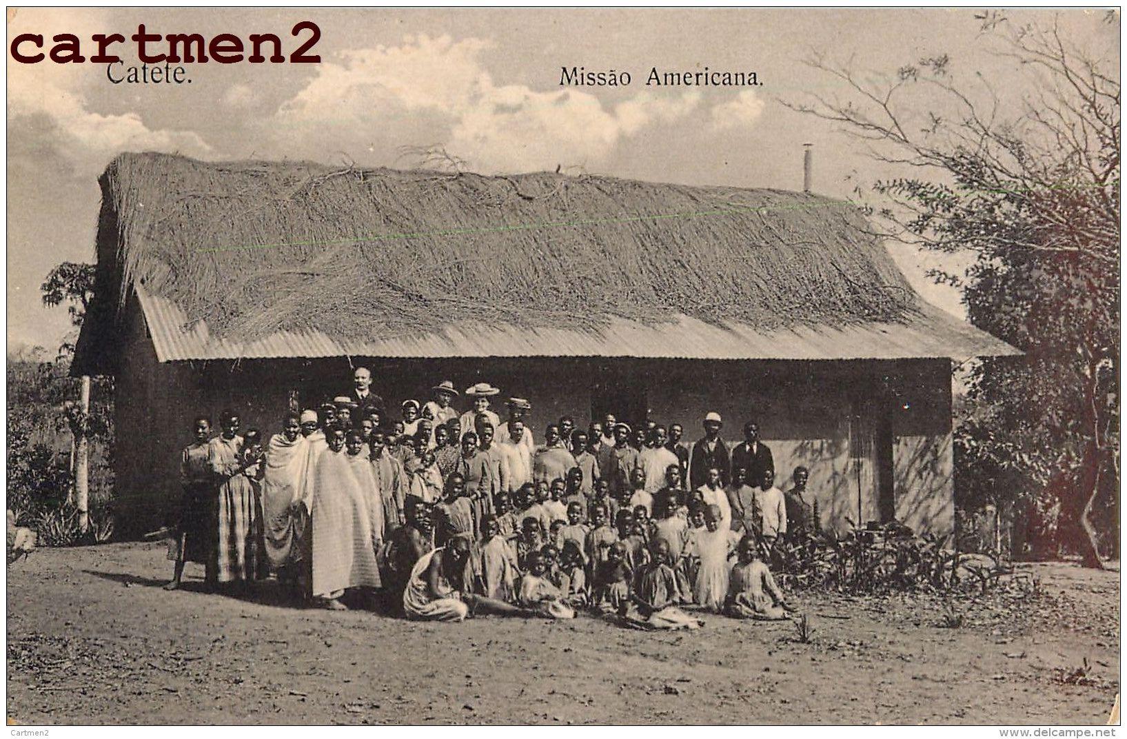 CATETE MISSAO AMERICANA REPUBLICA PORTUGAL AFRICA - Angola