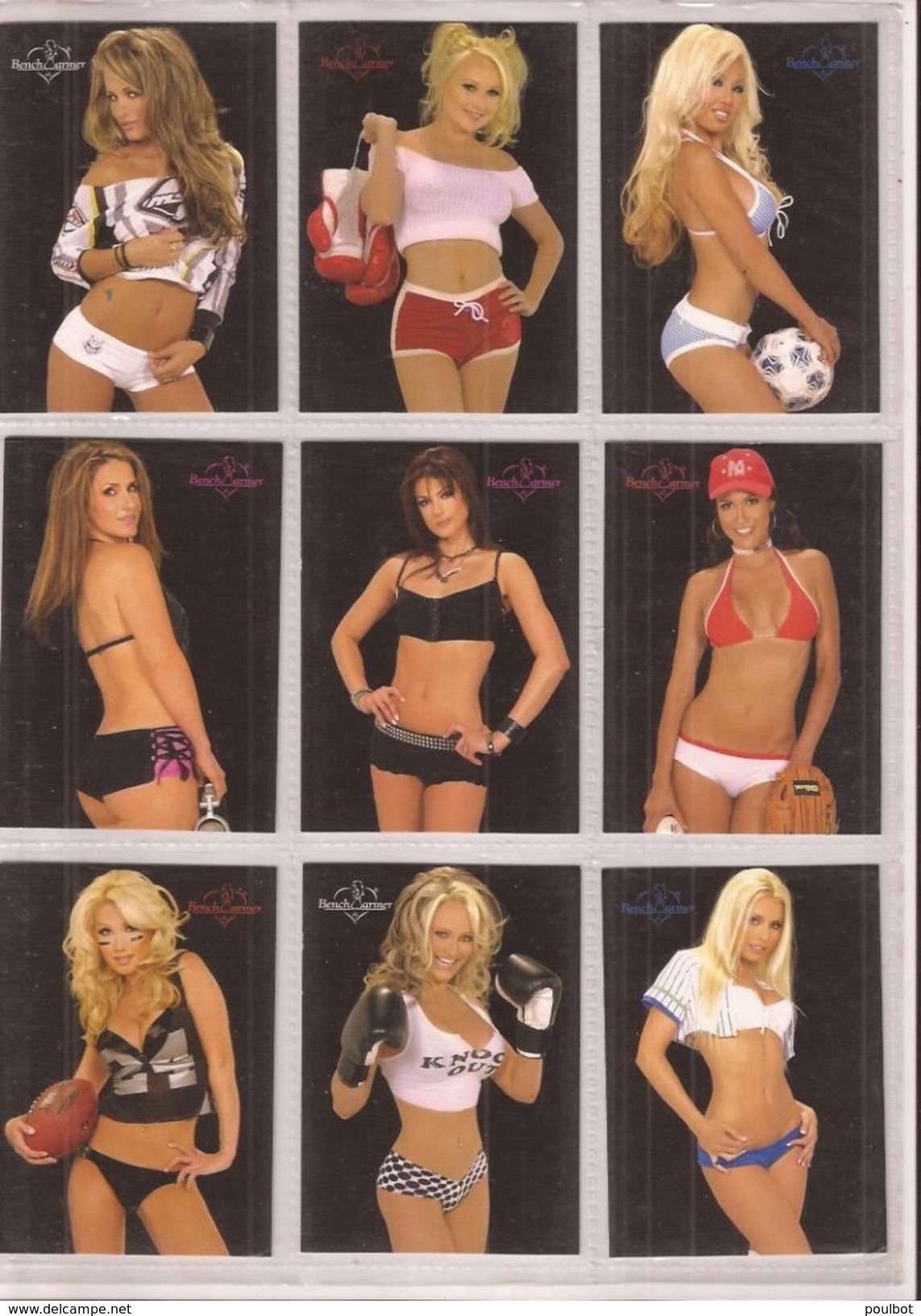 Nus Sexy Pin - Up   Lot 100 Cartes  Benchwarmers - Benchwarmers