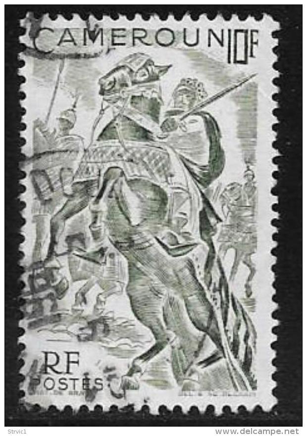 Cameroun, Scott # 318 Used Horsemen, 1946 - Cameroun (1915-1959)