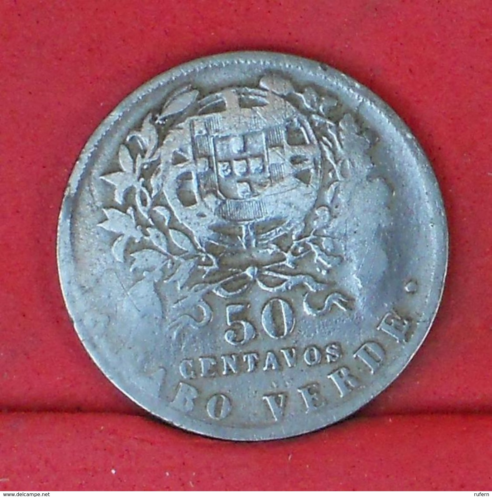 CAPE VERDE 50 CENTAVOS 1930 -    KM# 4 - (Nº18881) - Cap Vert