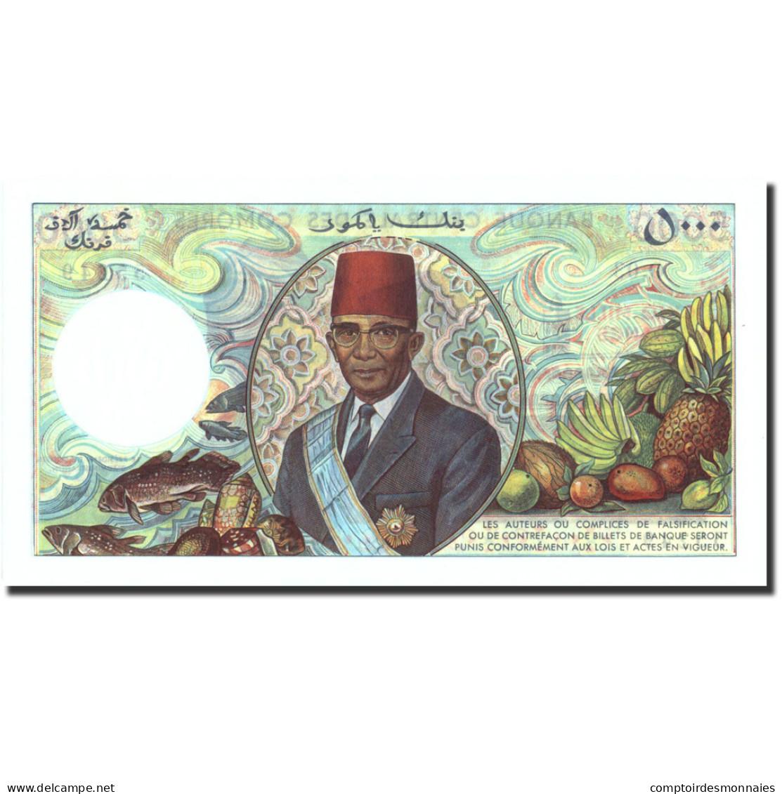 Comoros, 5000 Francs, Undated (1976), KM:12a, NEUF - Comores