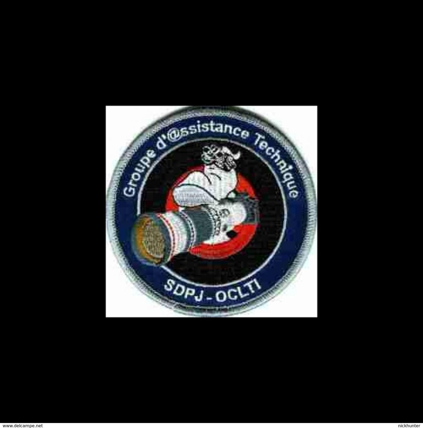 Ecusson Police / Gendarmerie (OCLTI - G@T) - Police