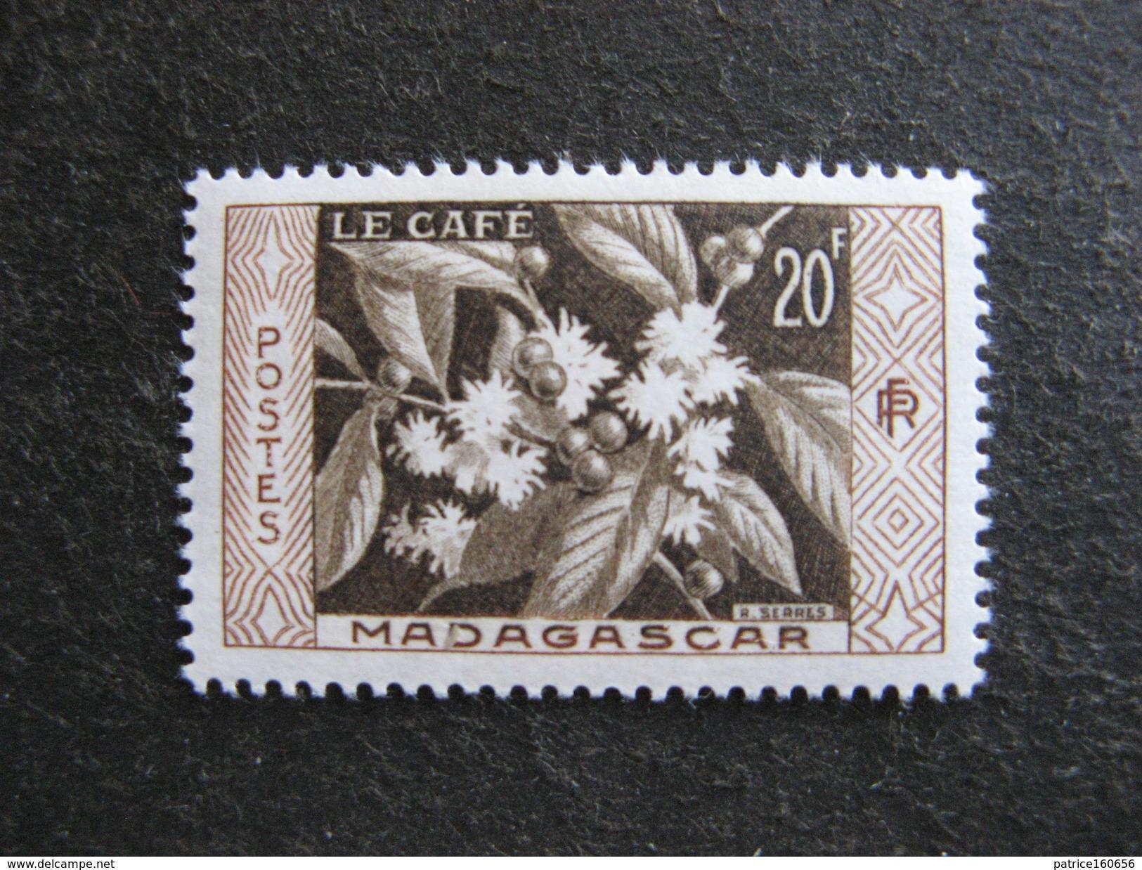 MADAGASCAR: TB N° 331, Neuf X. - Madagaskar (1889-1960)