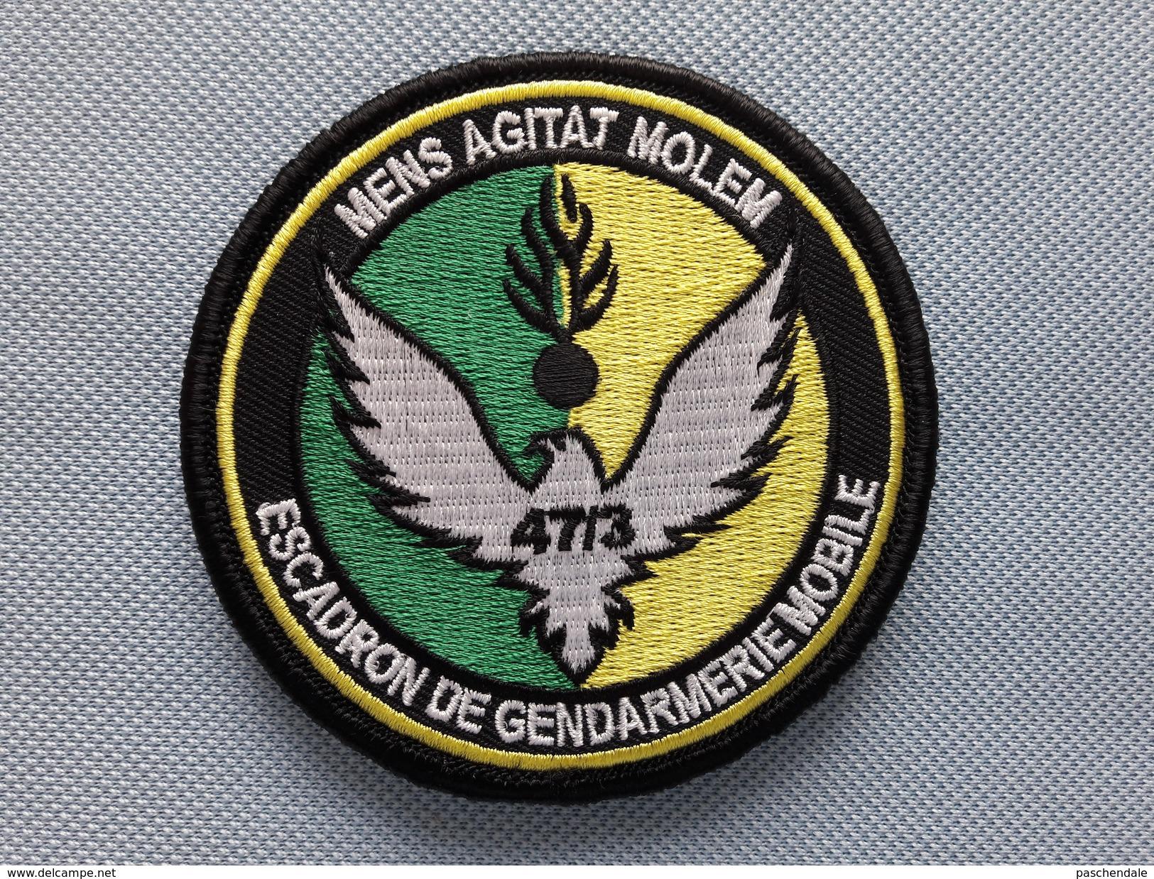 Ecusson Escadron Gendarmerie Mobile 47/3 CHATEAUROUX - Police