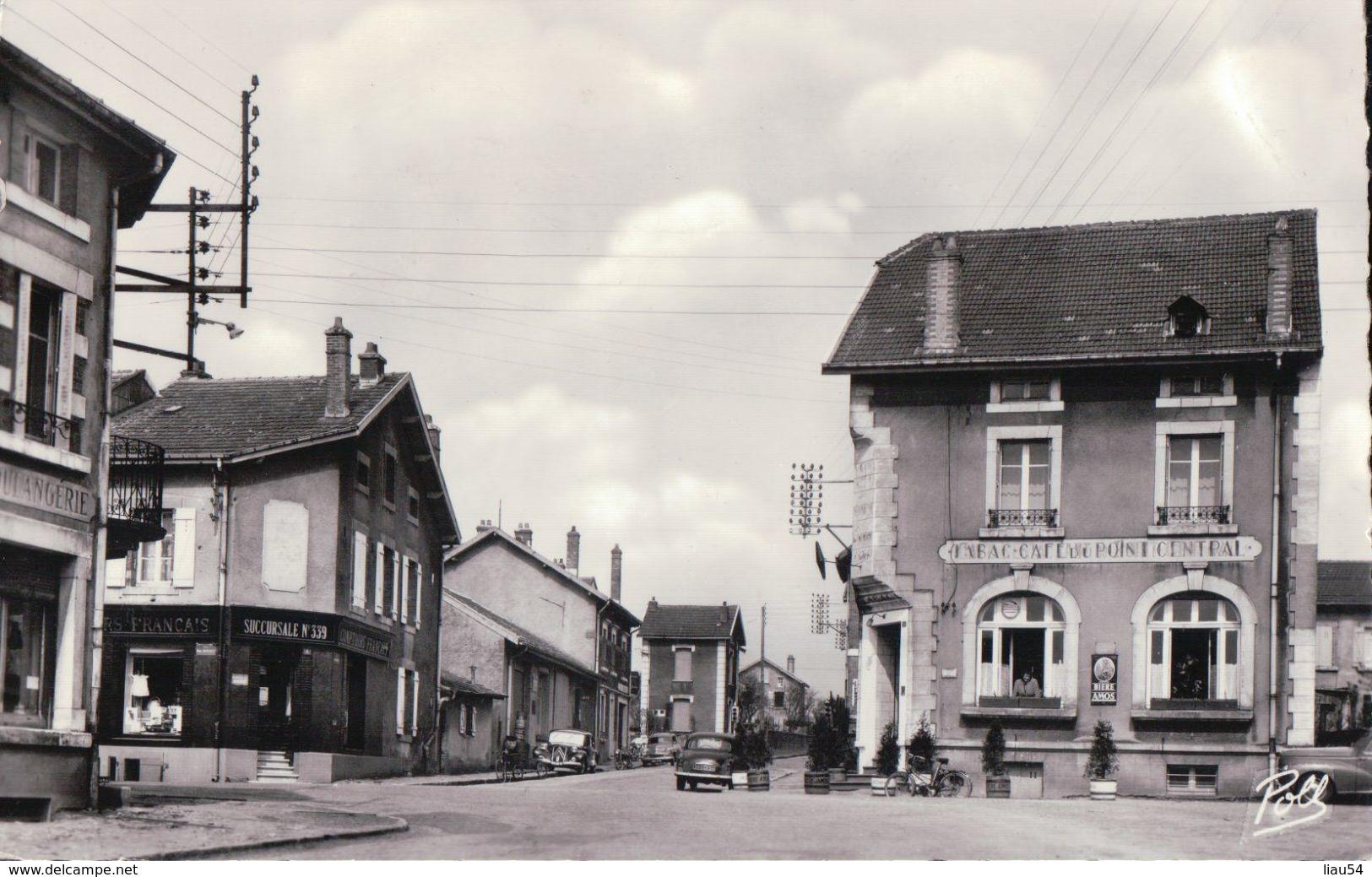 AUDUN LE ROMAN Le Point Central (1958) - Autres Communes