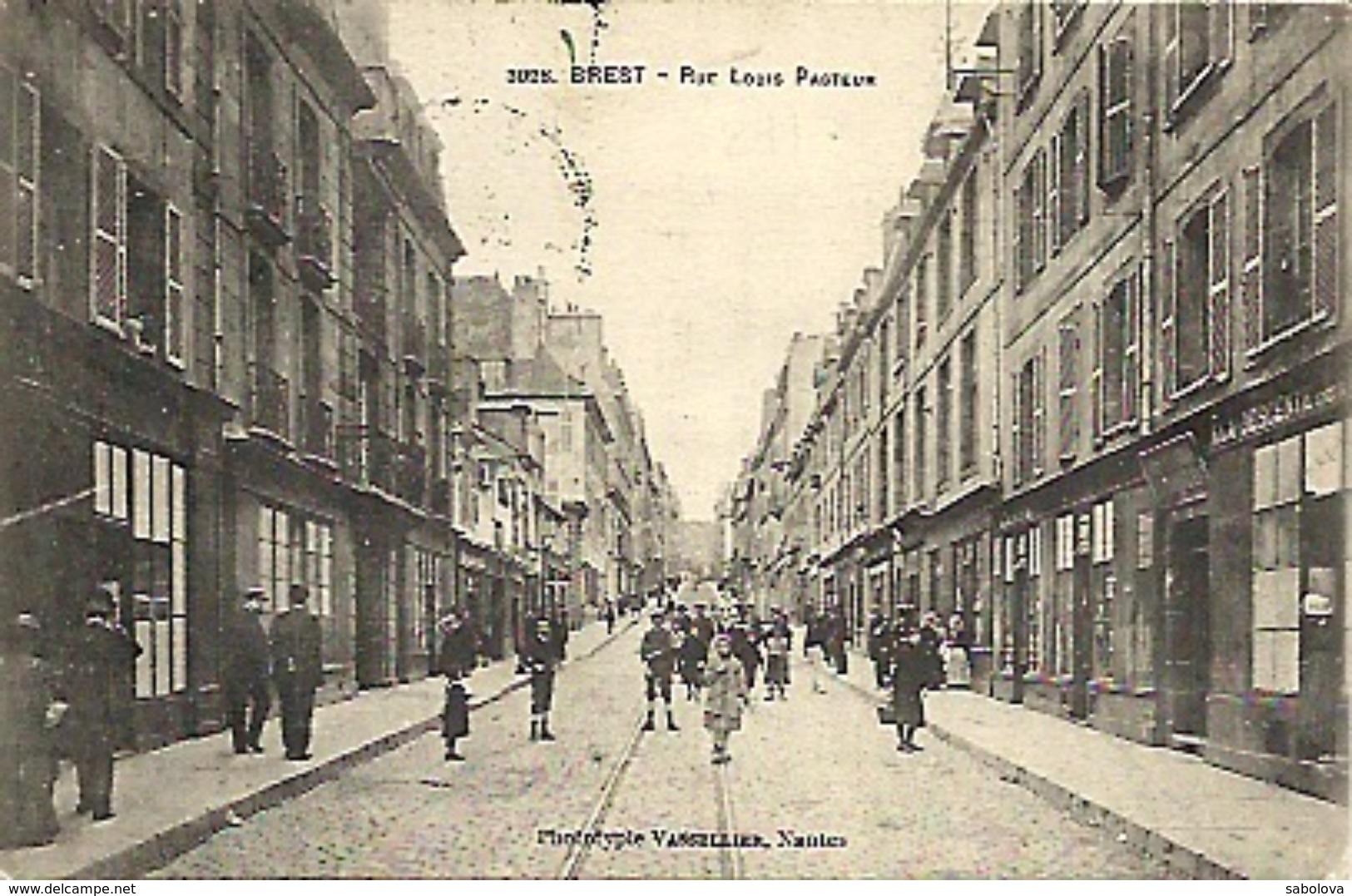 Brest Rue Louis Pasteur - Brest