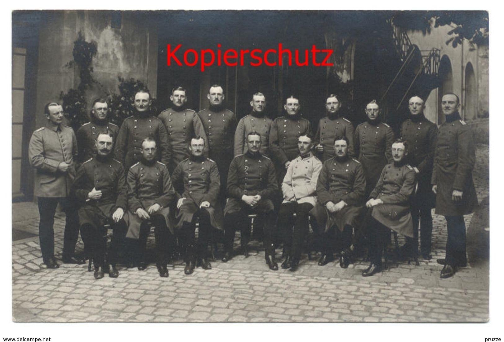 Infanterie-Regiment Nr. 128, Danzig, Offiziere - Weltkrieg 1914-18