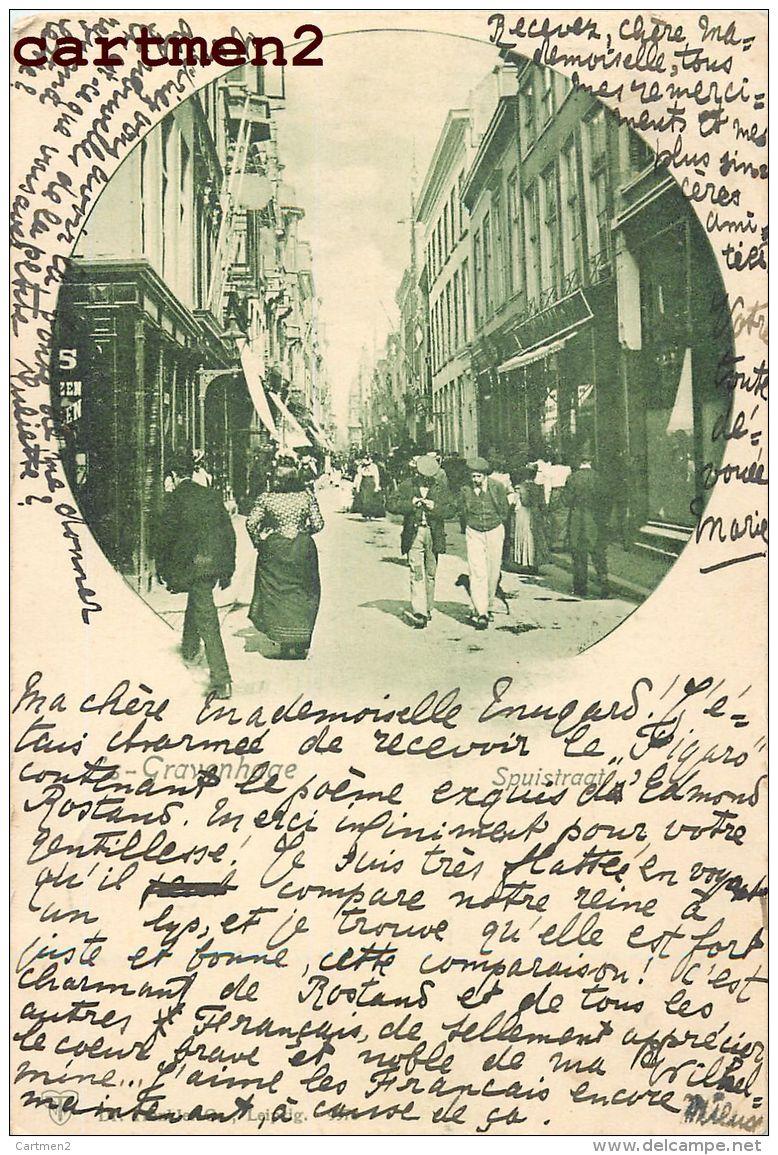 S'GRAVENHAGE DEN HAAG SPUISTRAAT NEDERLAND 1900 - Den Haag ('s-Gravenhage)