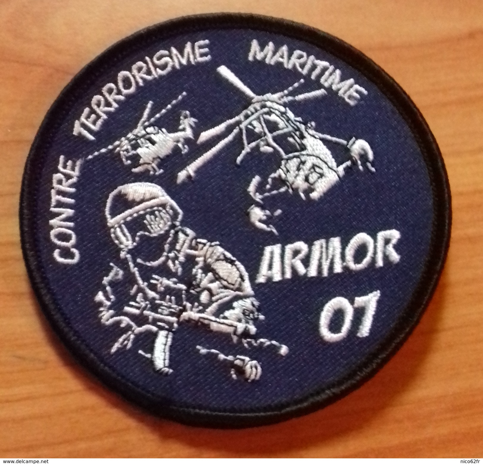 Ecusson Gendarmerie Nationale / Marine Nationale / Commando Marine - Police