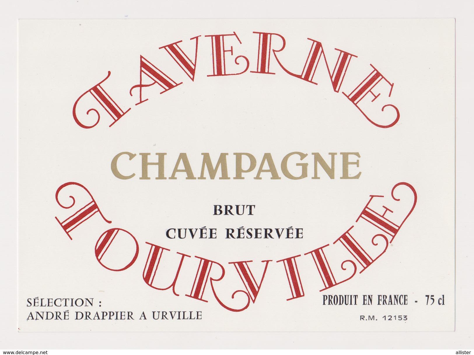 Etiquette Champagne ( DRAPPIER Cuvée TAVERNE TOURVILLE ) {S38-17} - Posters