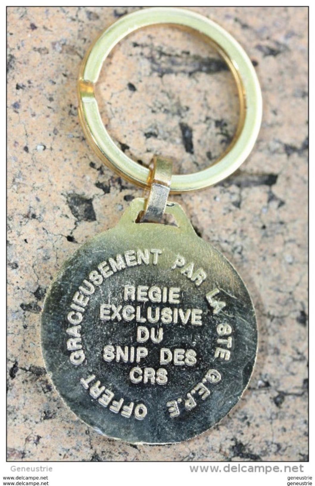 """Beau Porte-clés """"SNIP Des CRS"""" (Syndicat National Indépendant De La Police) Porte-clefs - Police"""