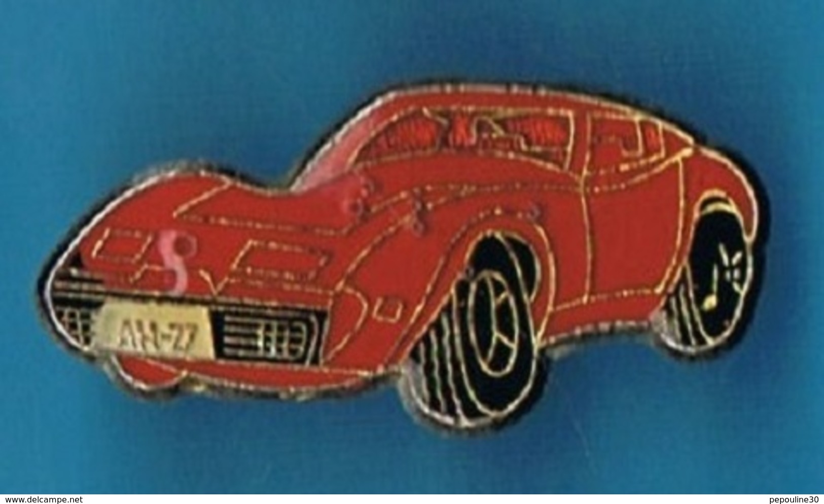 PIN´S //  ** CHEVROLET ** CORVETTE ** STINGRAY ** 1970 ** - Corvette
