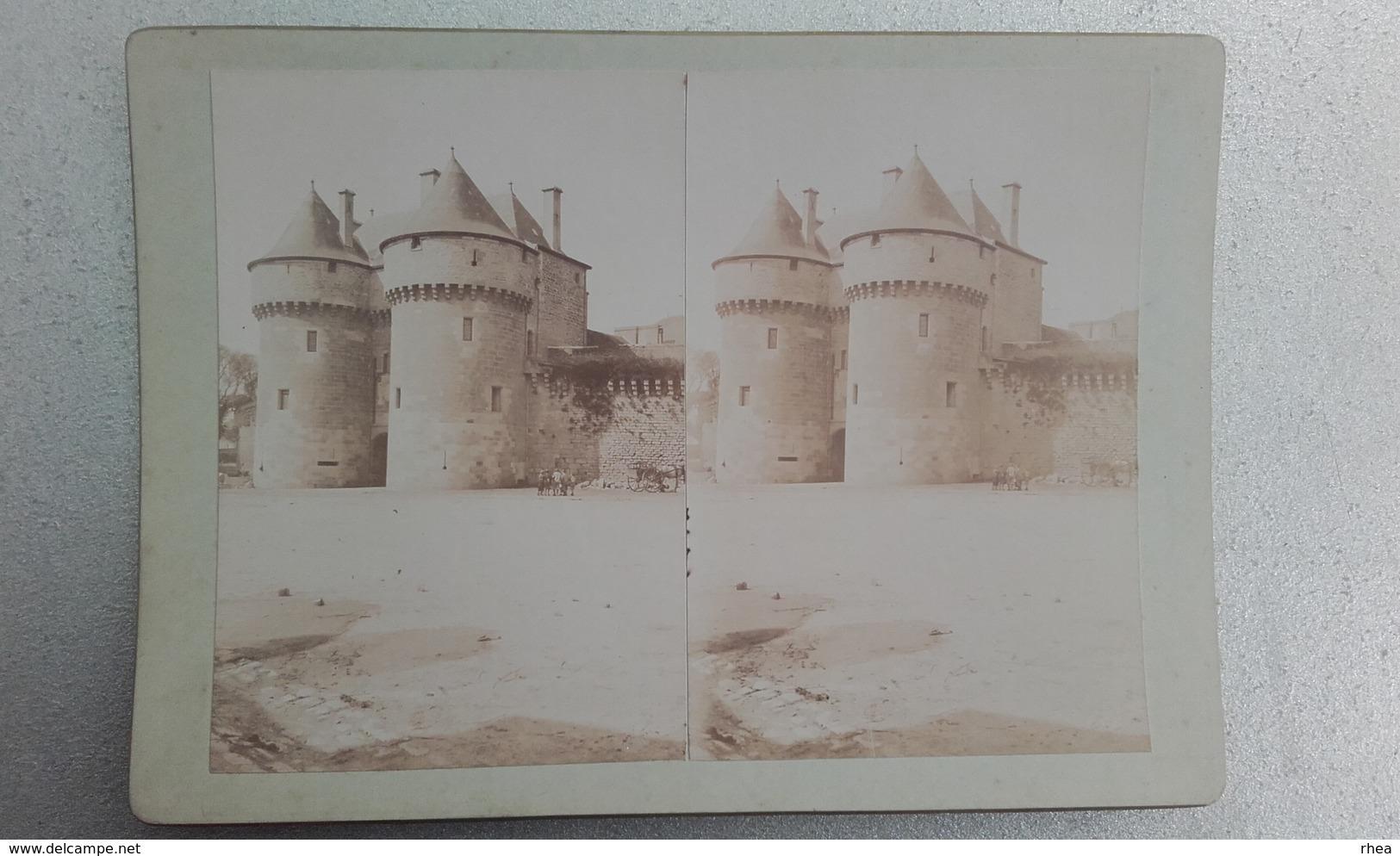 44 - GUERANDE - Photo Stéréo Sur Carton - 1902 - Photos Stéréoscopiques