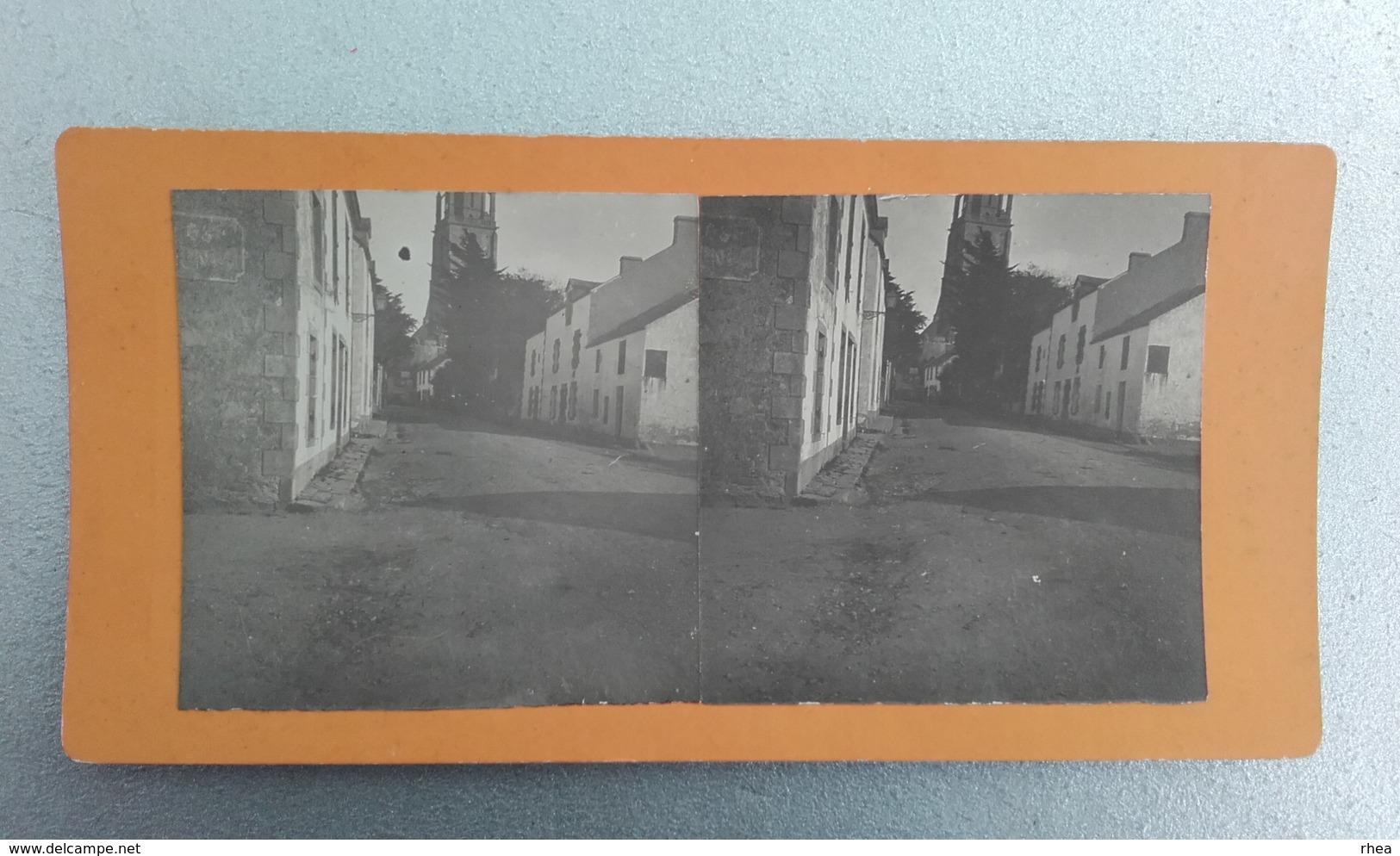44 - BATZ-SUR-MER - Photo Stéréo Sur Carton - 1917 - Photos Stéréoscopiques