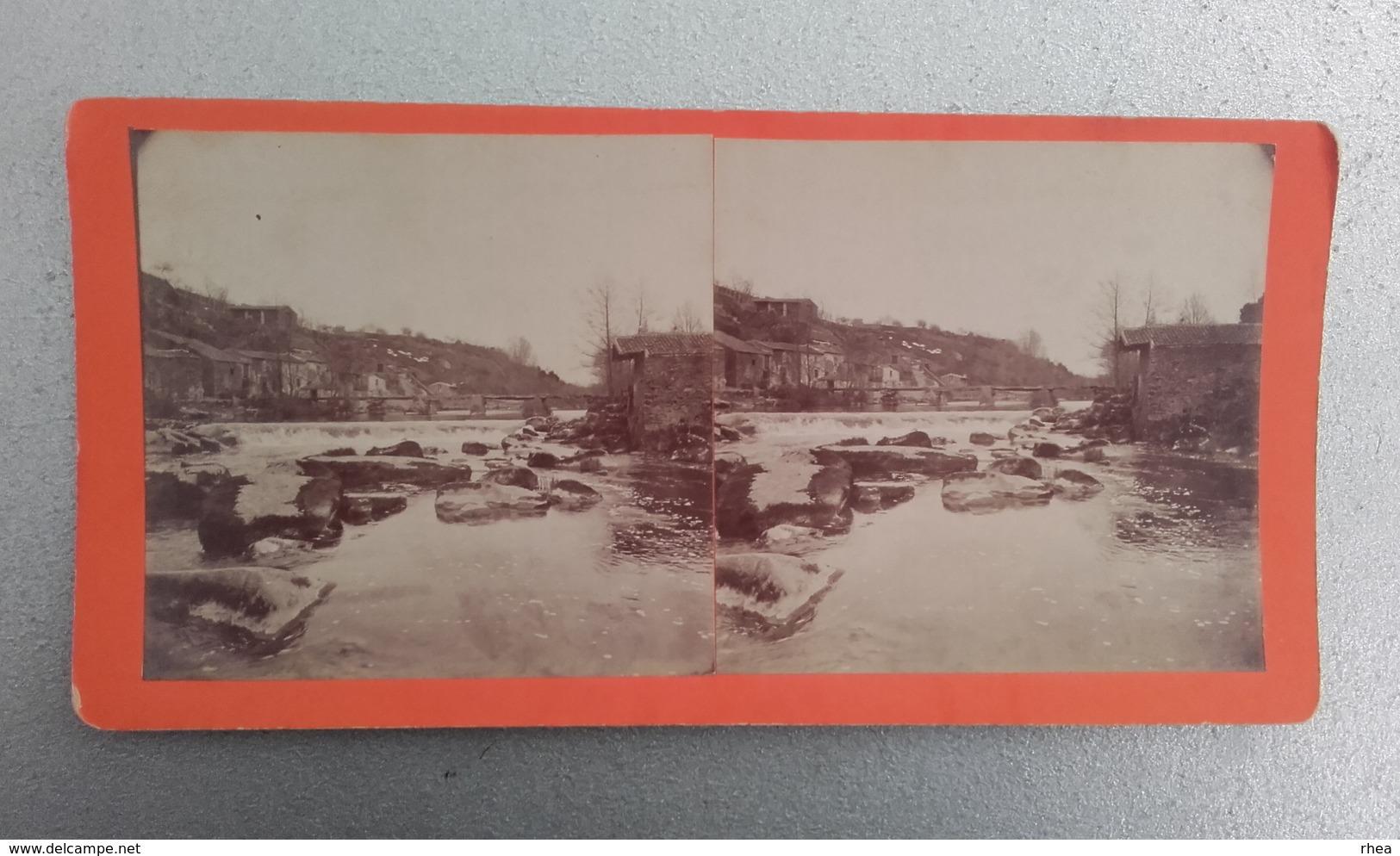 44 - BOUSSAY - Photo Stéréo Sur Carton - - Photos Stéréoscopiques