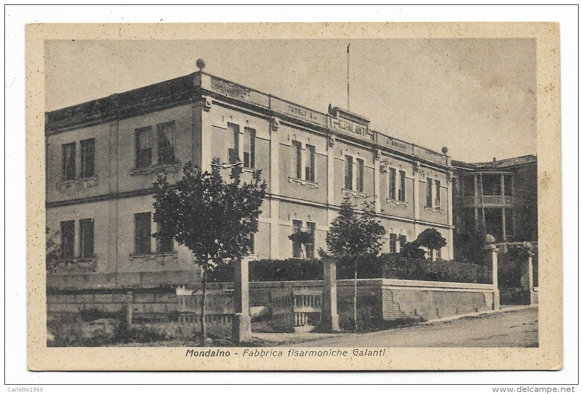 MONDAINO - FABBRICA FISARMONICHE GALANTI - NV  FP - Rimini