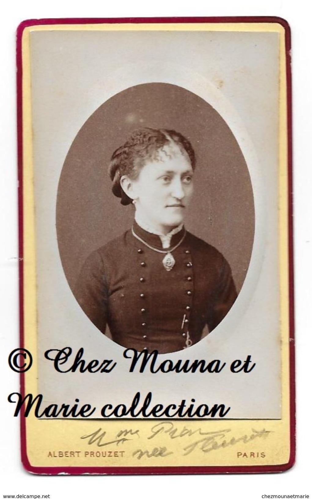FAMILLE PION FLEUROT - COTE D OR - CDV PHOTO PARIS PROUZET - GENEALOGIE - Photos