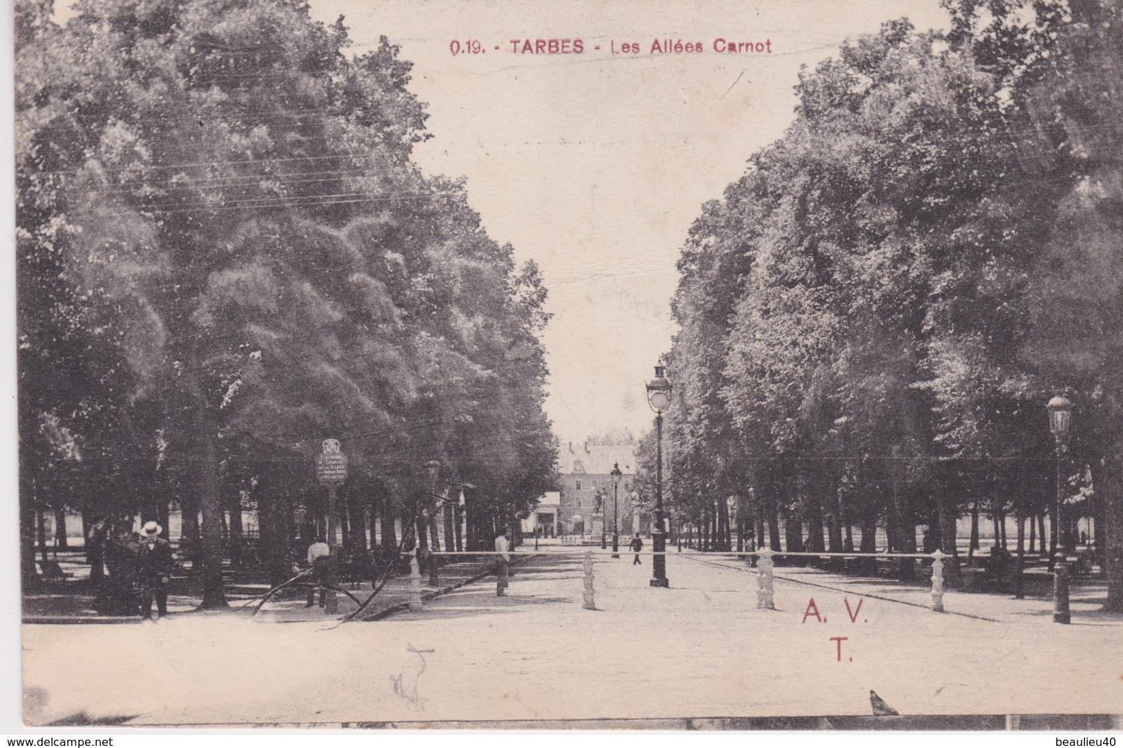 TARBES - LES ALLÉES CARNOT - Tarbes